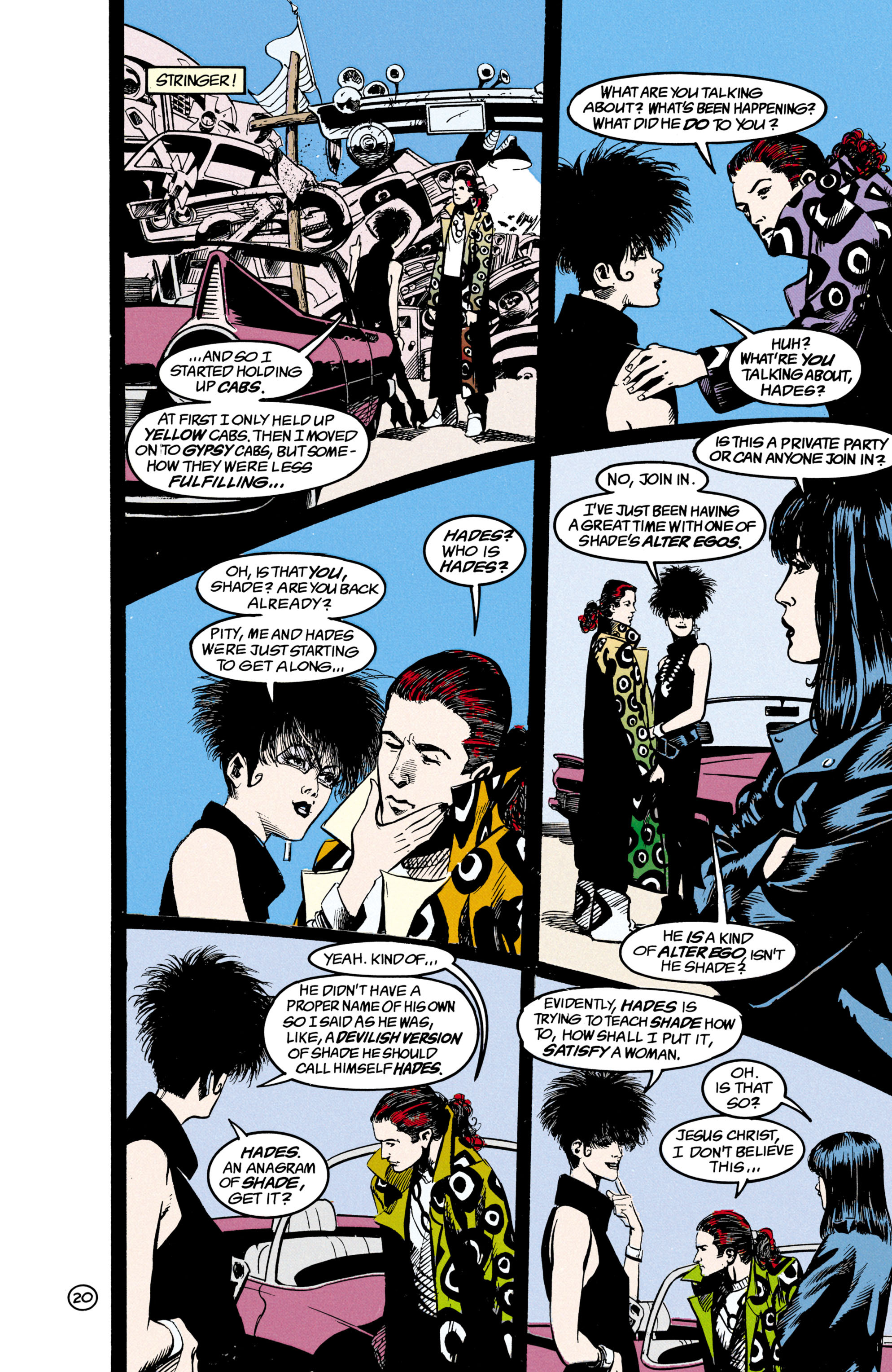 Read online Shade, the Changing Man comic -  Issue #21 - 21
