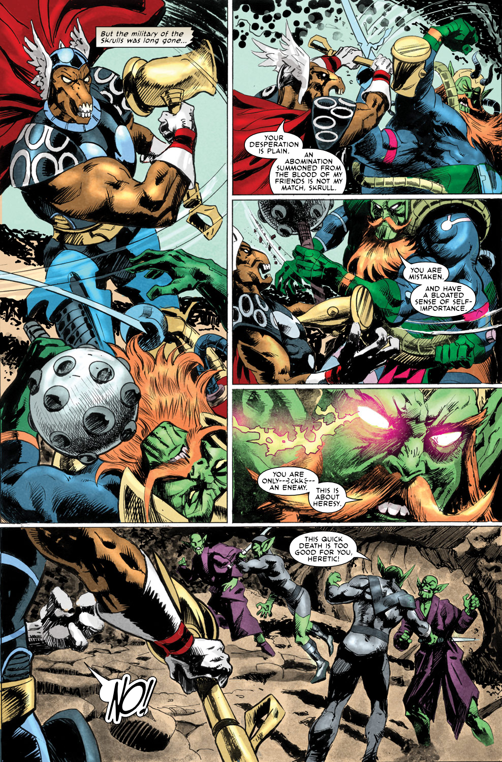 Read online Secret Invasion Aftermath: Beta Ray Bill - The Green of Eden comic -  Issue # Full - 25
