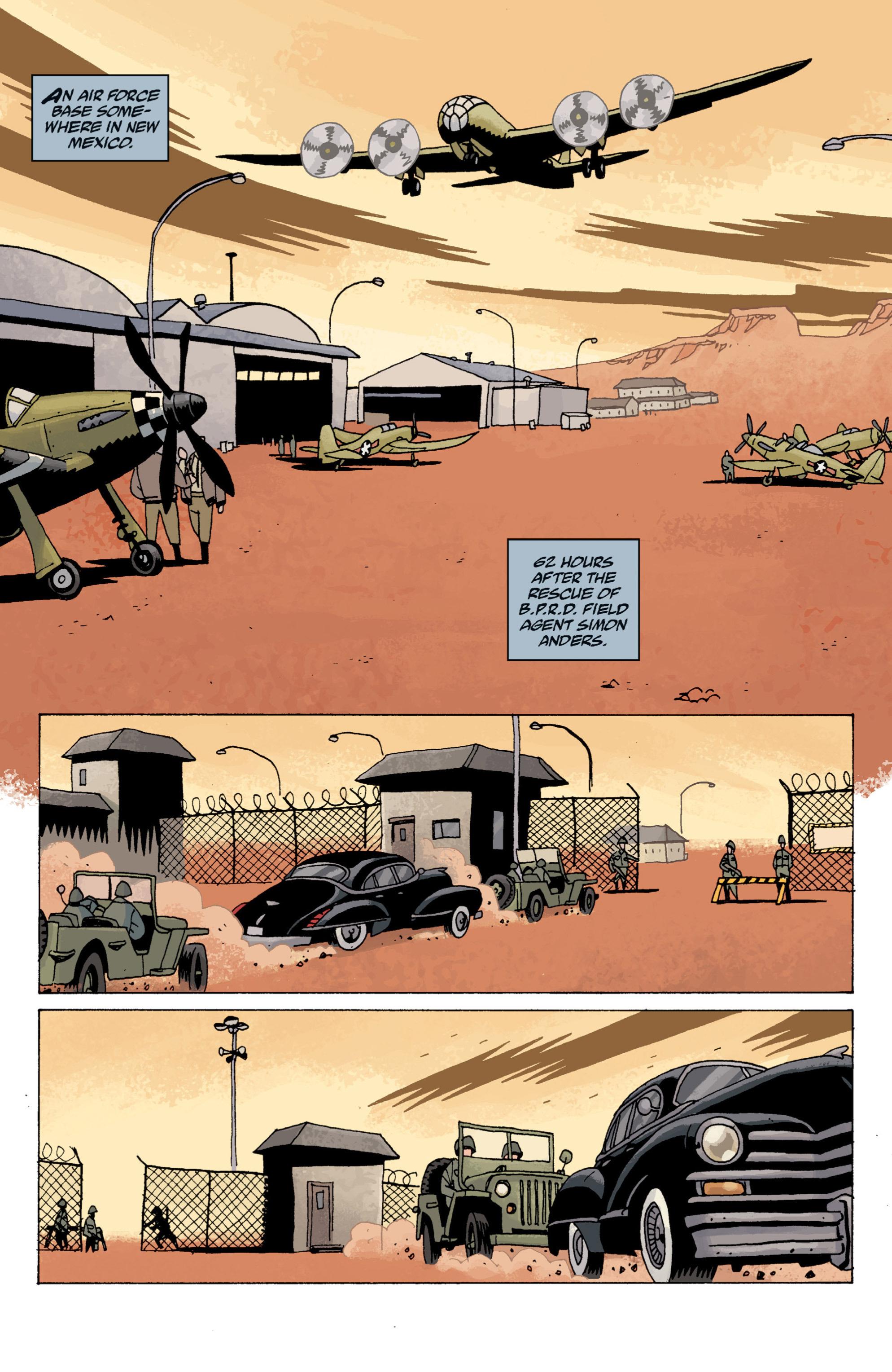 Read online B.P.R.D. (2003) comic -  Issue # TPB 13 - 112