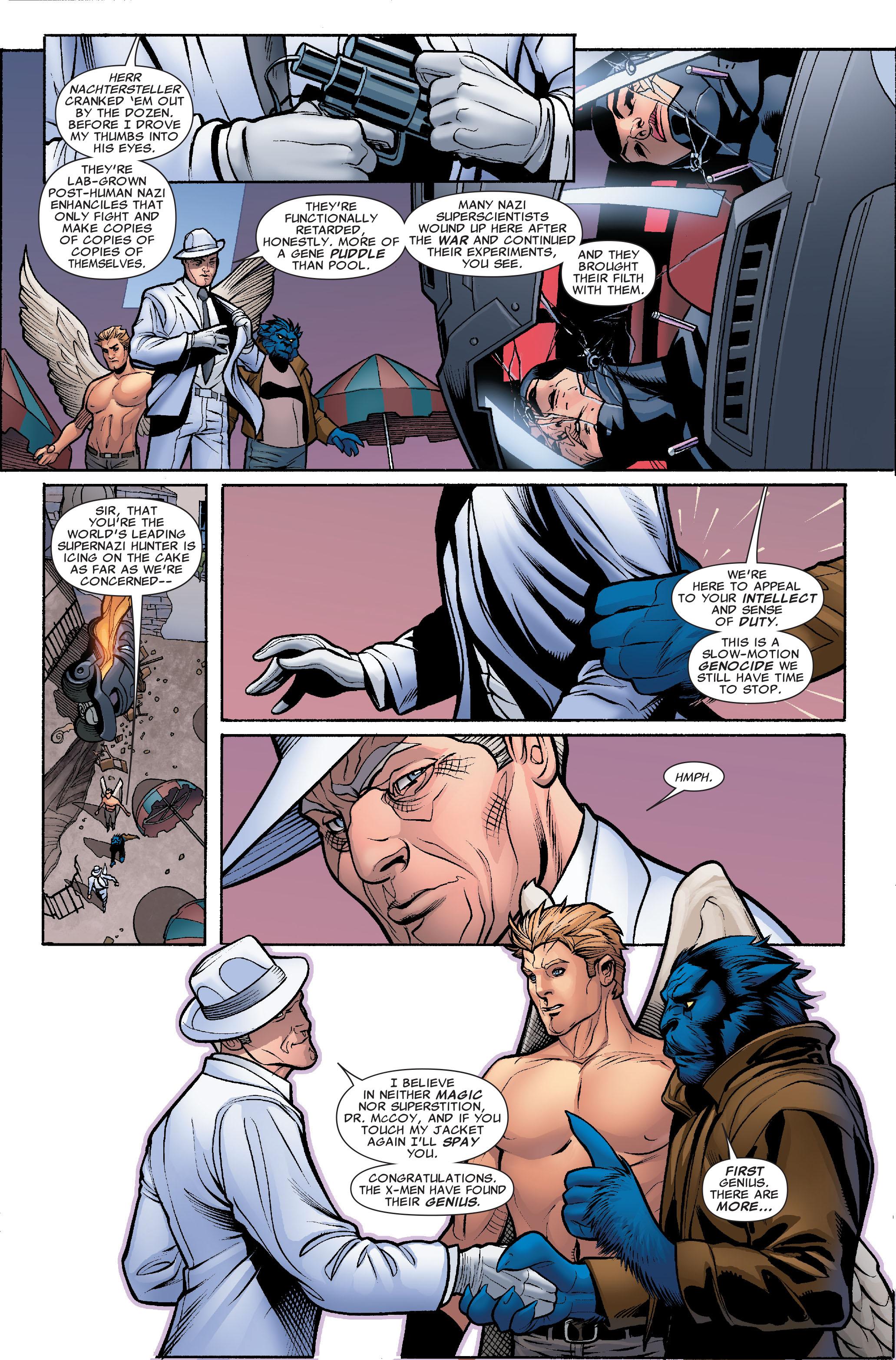 Read online Uncanny X-Men (1963) comic -  Issue #504 - 20