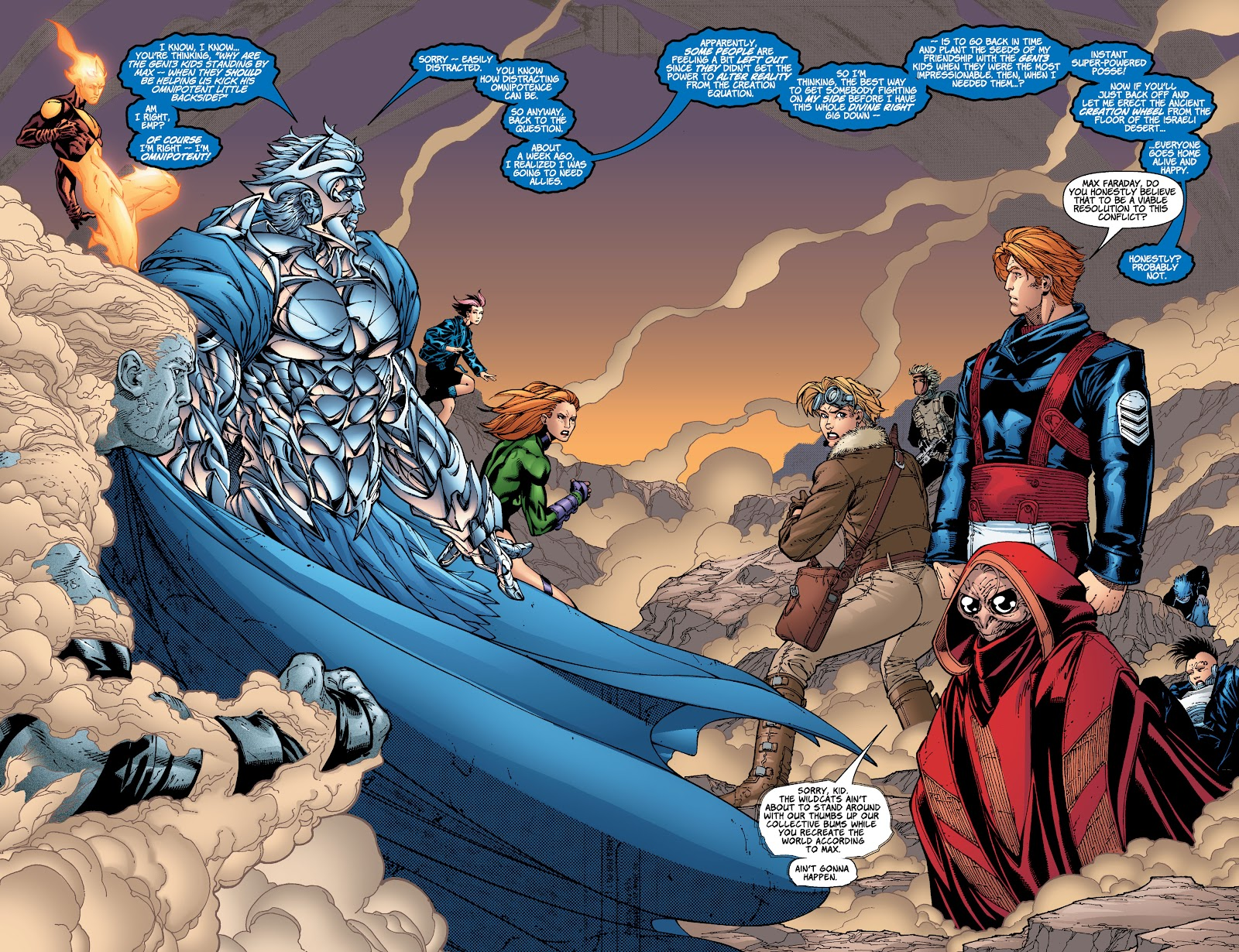 Read online Divine Right comic -  Issue # _TPB The Adventures of Max Faraday (Part 4) - 5