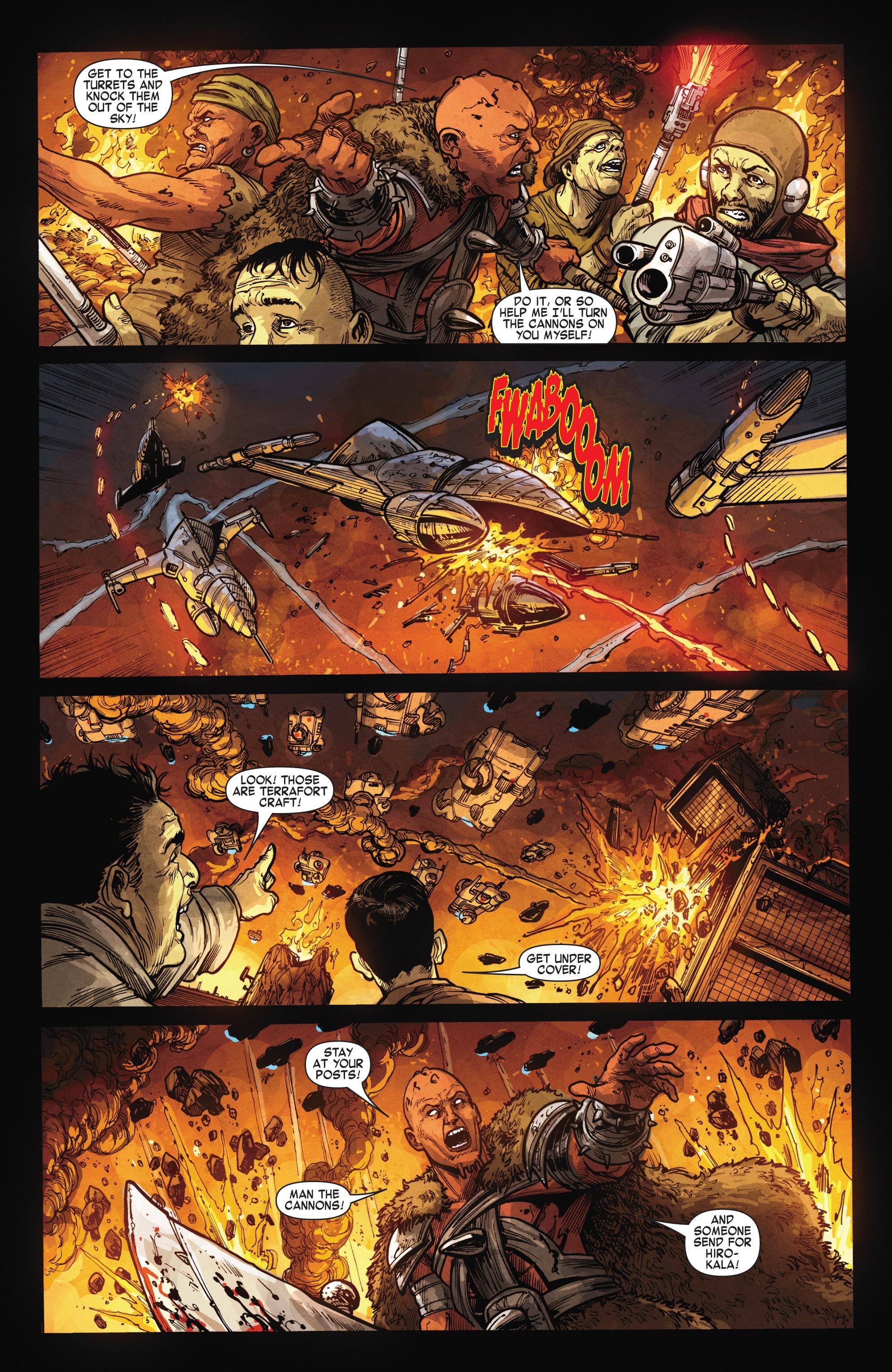 Read online Skaar: Son of Hulk comic -  Issue #15 - 22