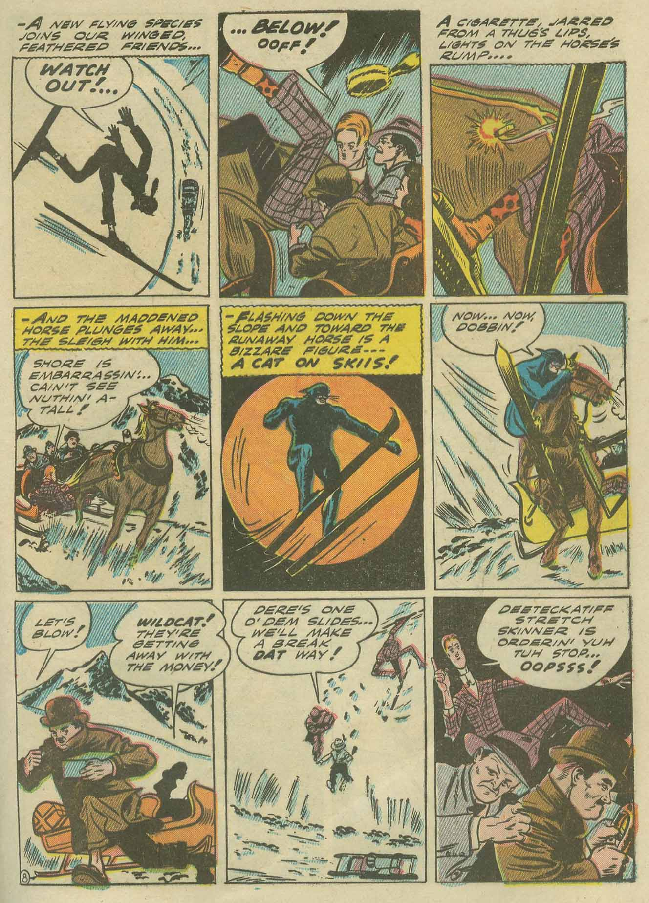 Read online Sensation (Mystery) Comics comic -  Issue #9 - 63