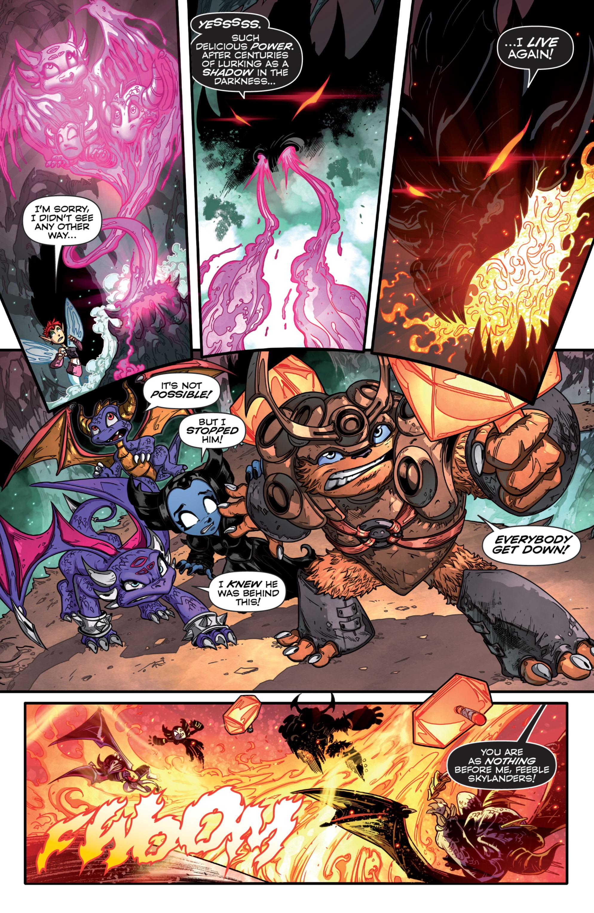Read online Skylanders comic -  Issue #7 - 17