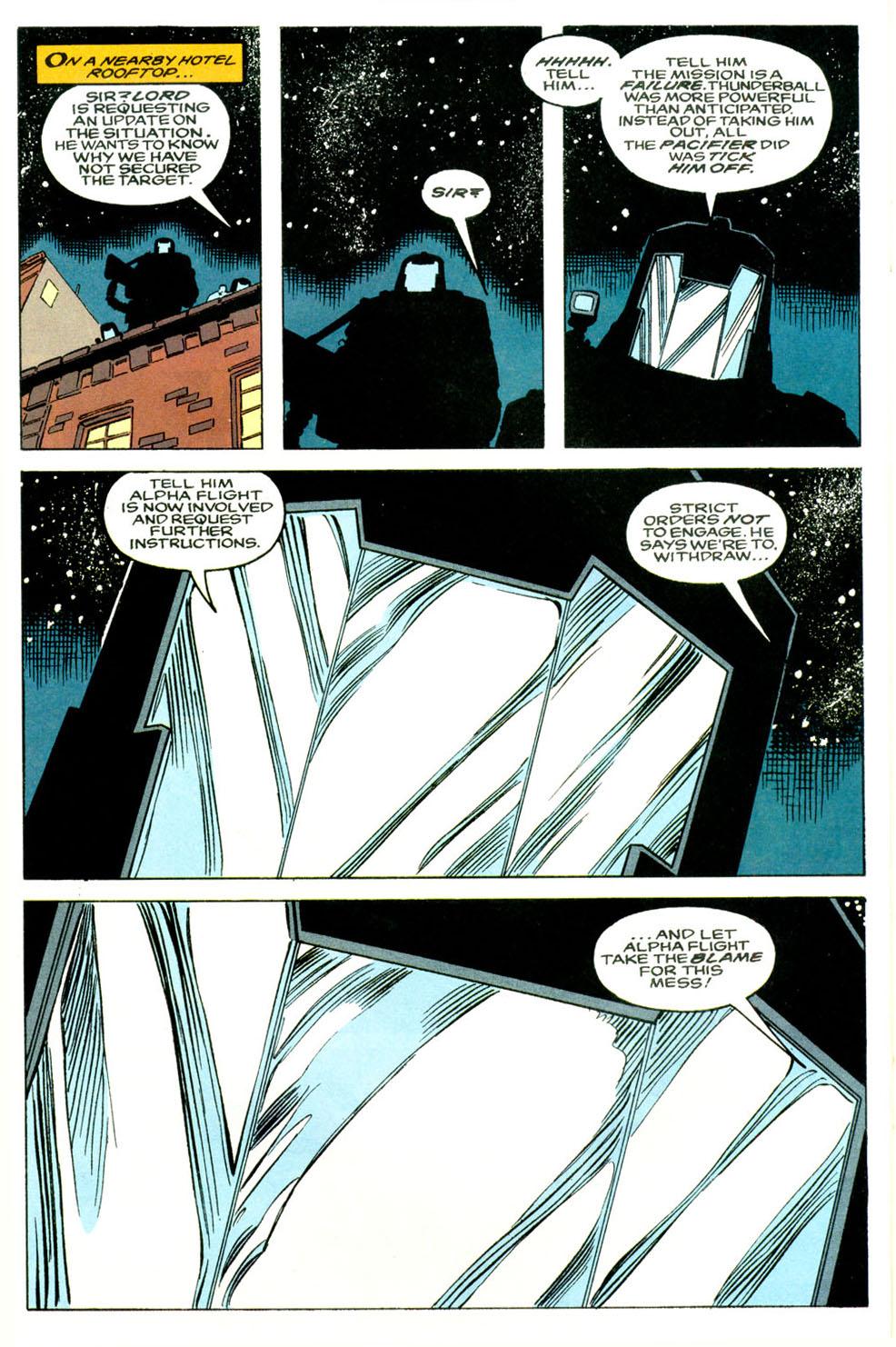 Read online Alpha Flight (1983) comic -  Issue #118 - 19
