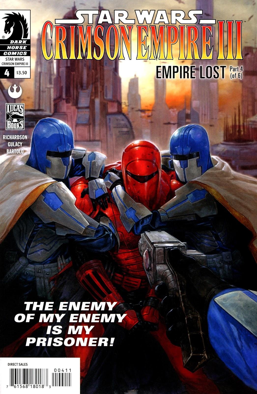 Star Wars: Crimson Empire III - Empire Lost 4 Page 1