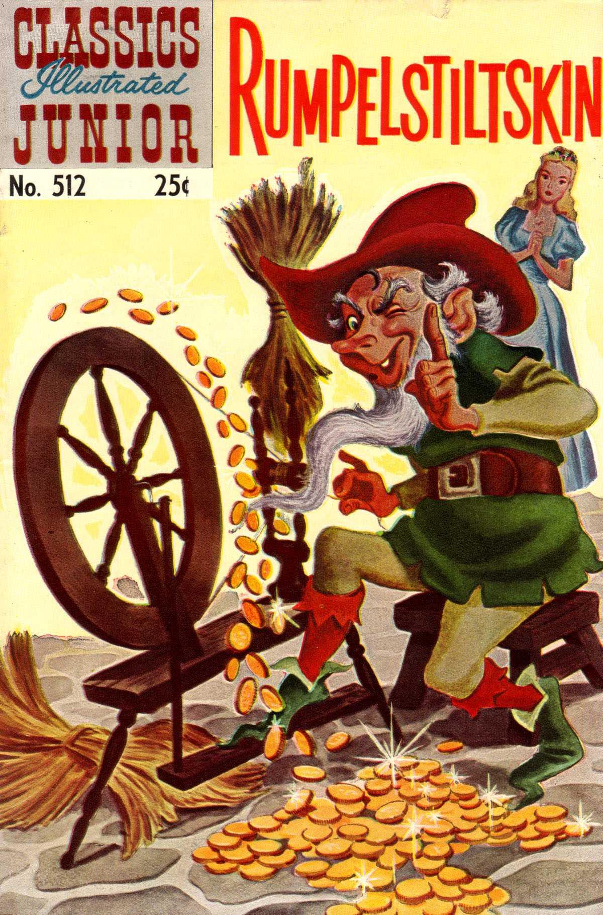 Classics Illustrated Junior 512 Page 1