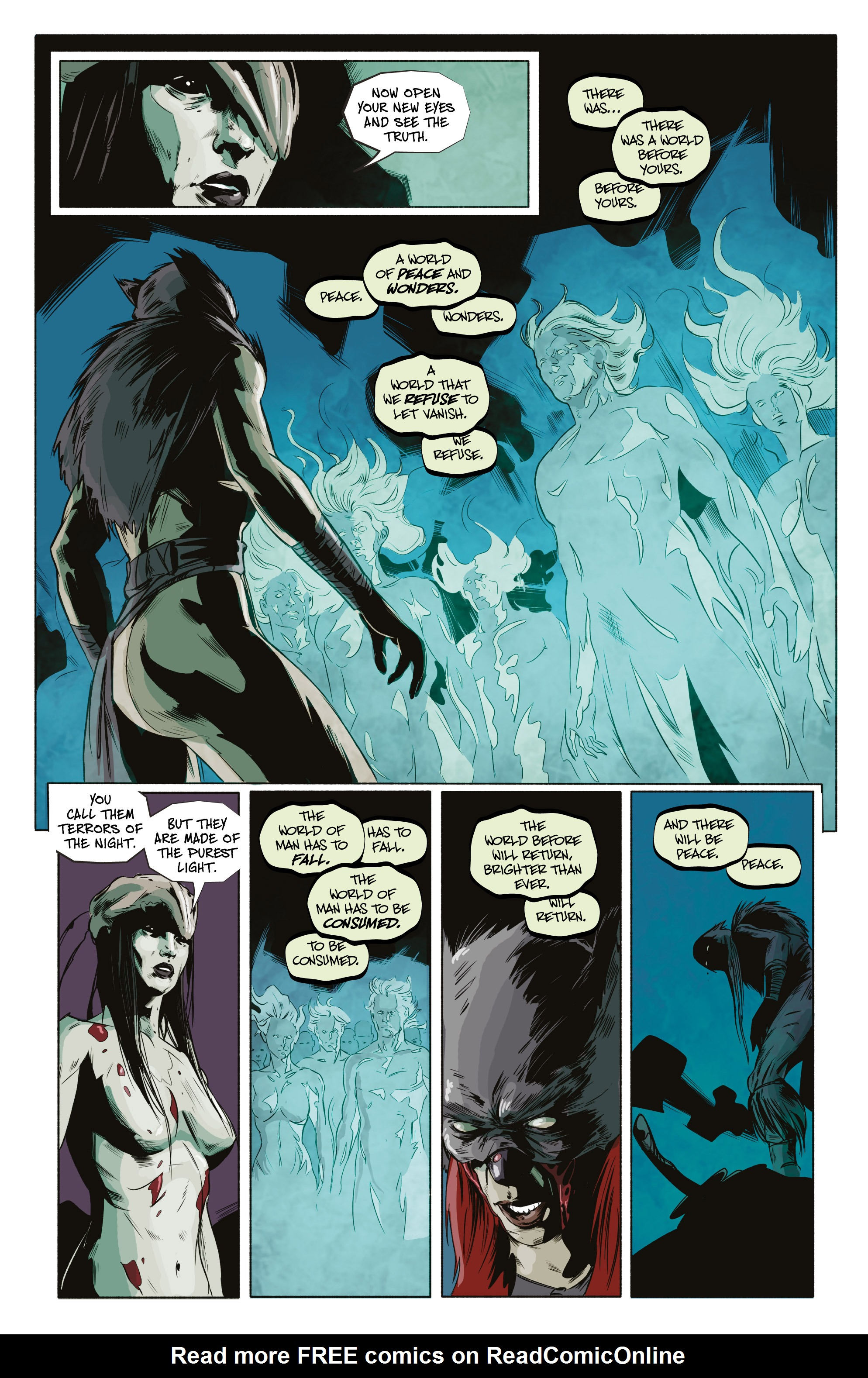 Read online Ghost Wolf comic -  Issue #4 - 23