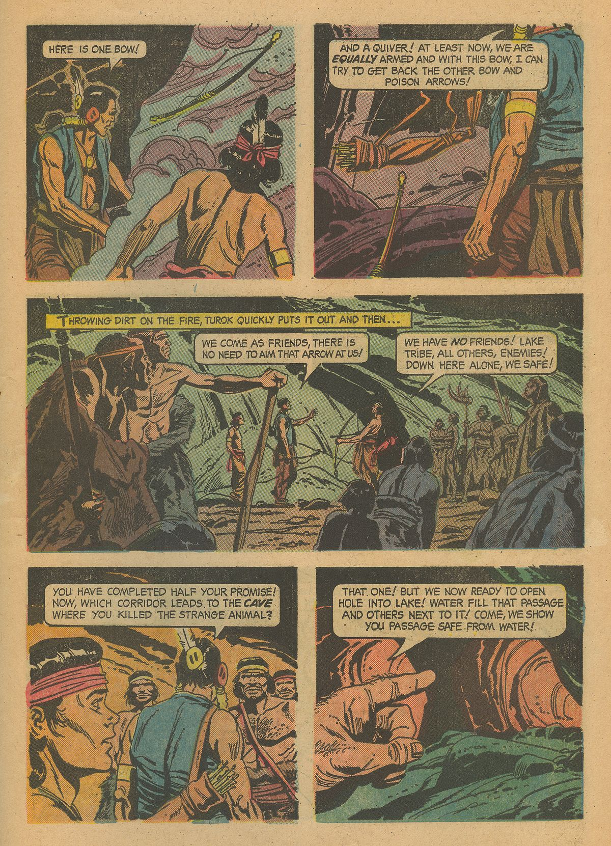 Read online Turok, Son of Stone comic -  Issue #43 - 27