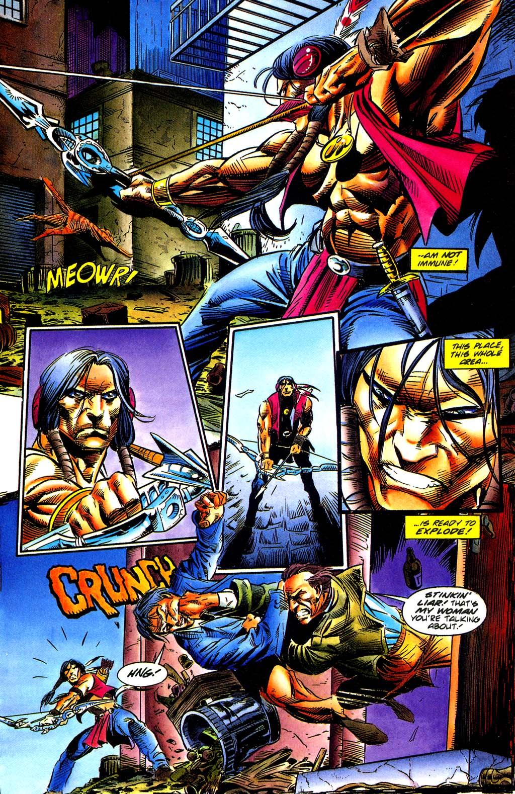 Read online Turok, Dinosaur Hunter (1993) comic -  Issue #29 - 19
