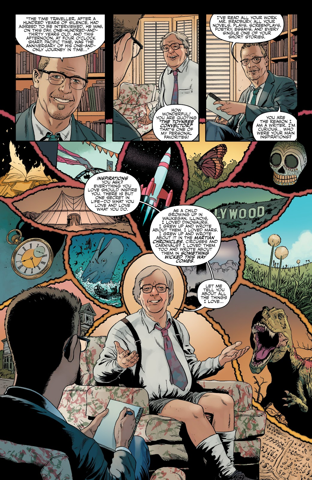 Read online Shadow Show: Stories in Celebration of Ray Bradbury comic -  Issue #3 - 5
