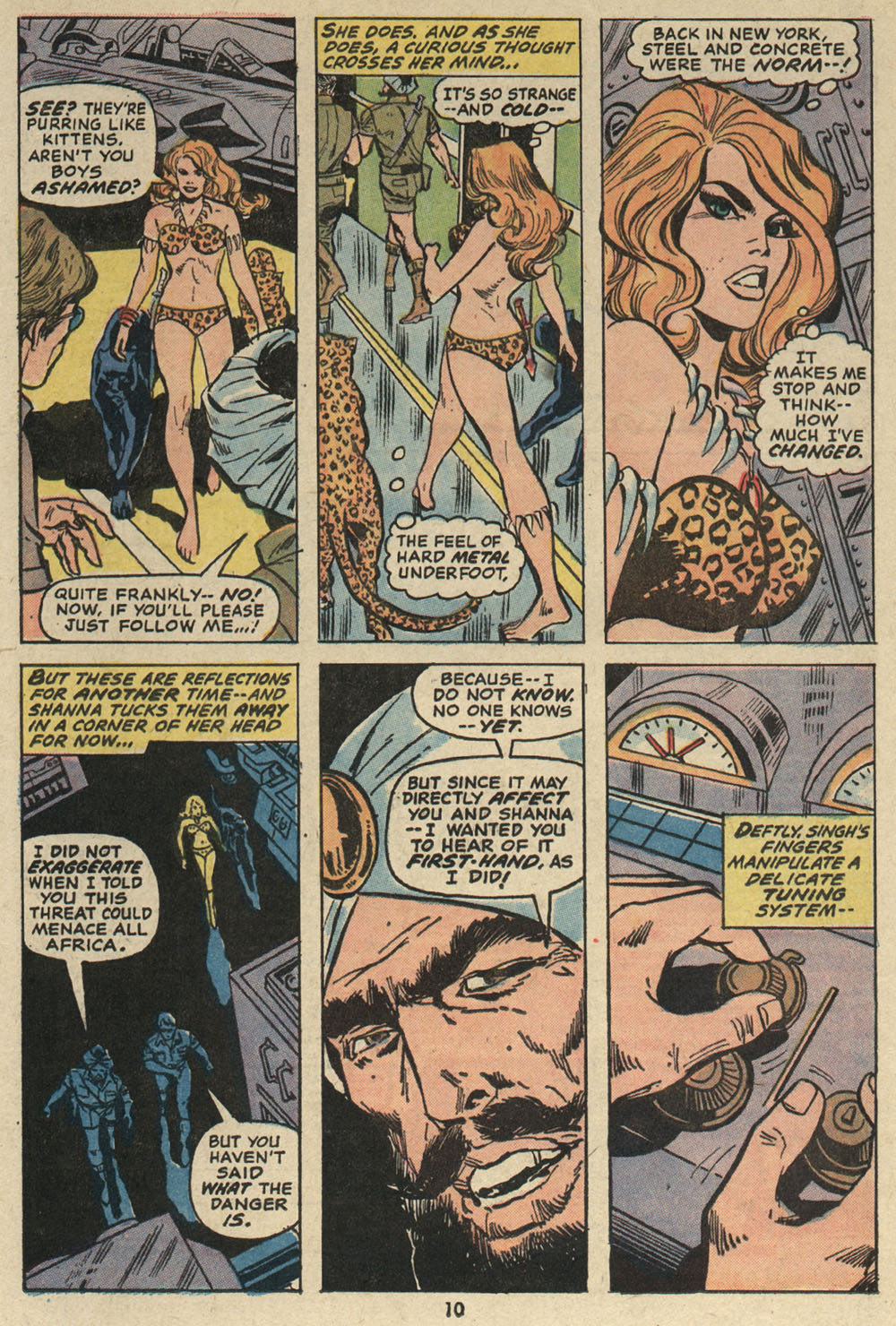 Read online Shanna, the She-Devil (1972) comic -  Issue #5 - 8