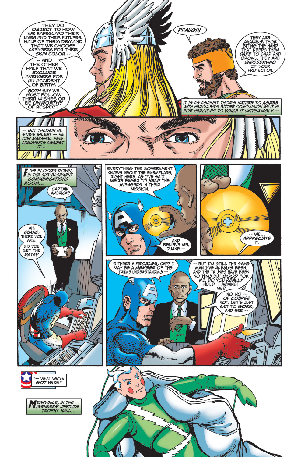 Read online Avengers (1998) comic -  Issue #25 - 7