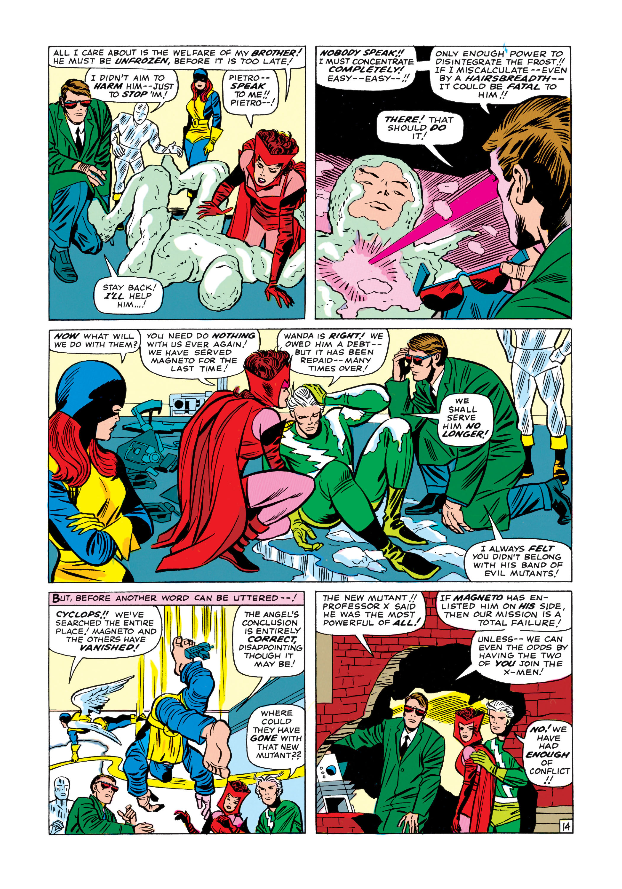 Read online Uncanny X-Men (1963) comic -  Issue #11 - 15