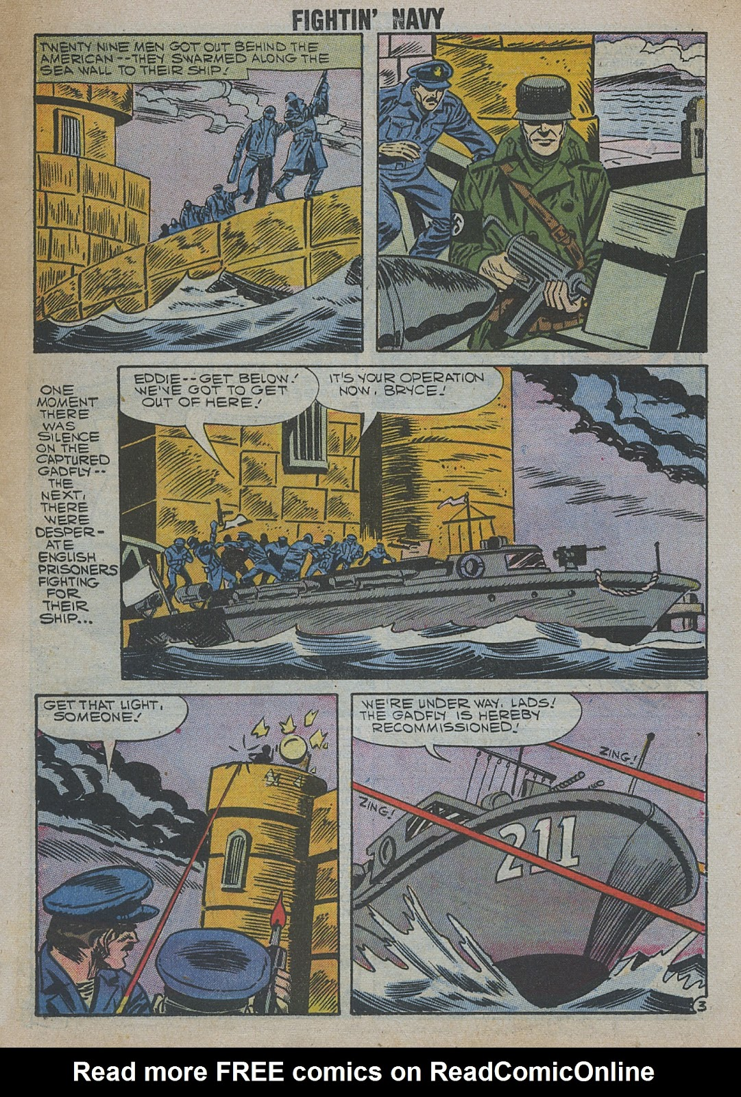 Read online Fightin' Navy comic -  Issue #82 - 19