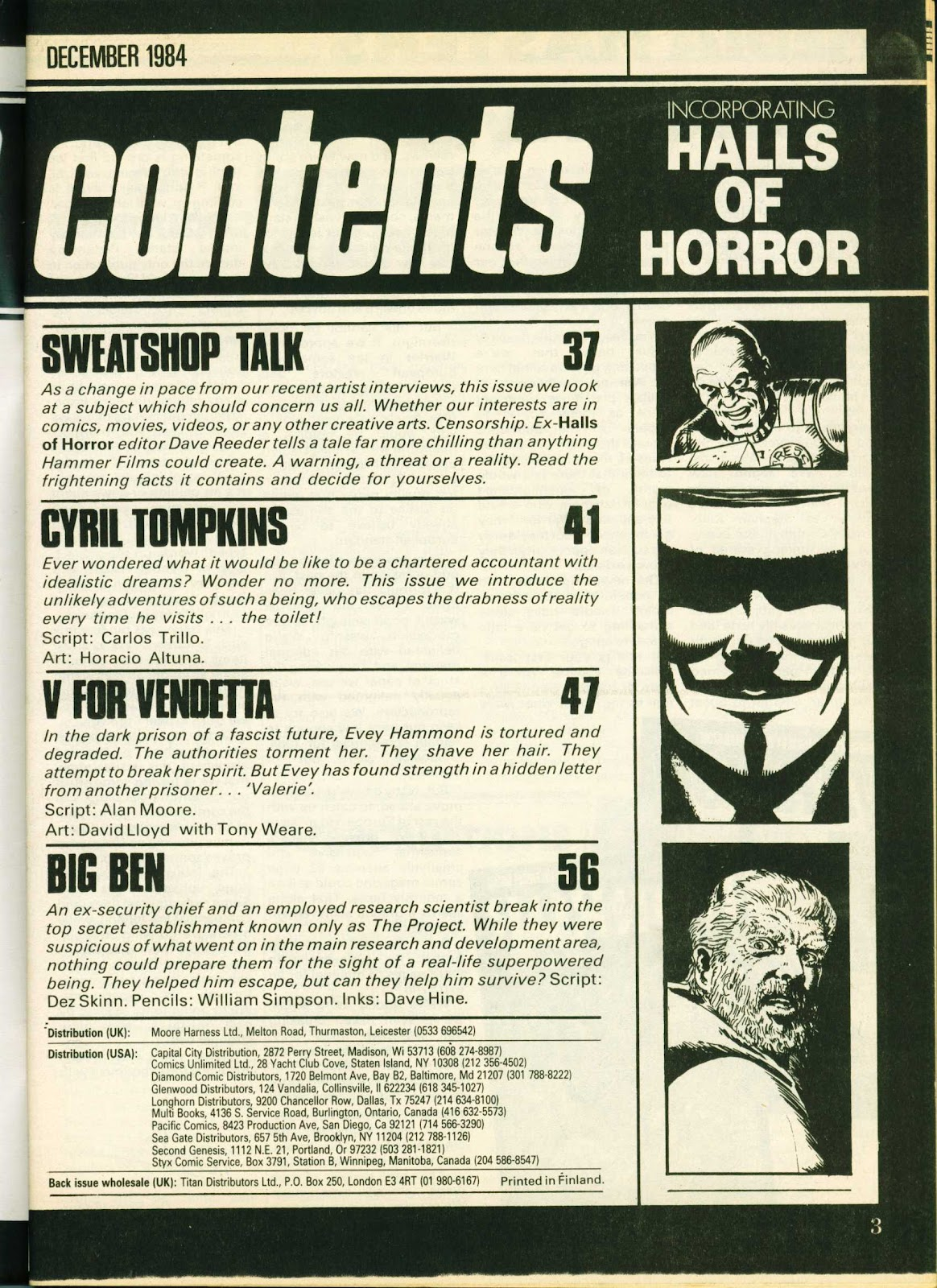 Warrior Issue #25 #26 - English 3