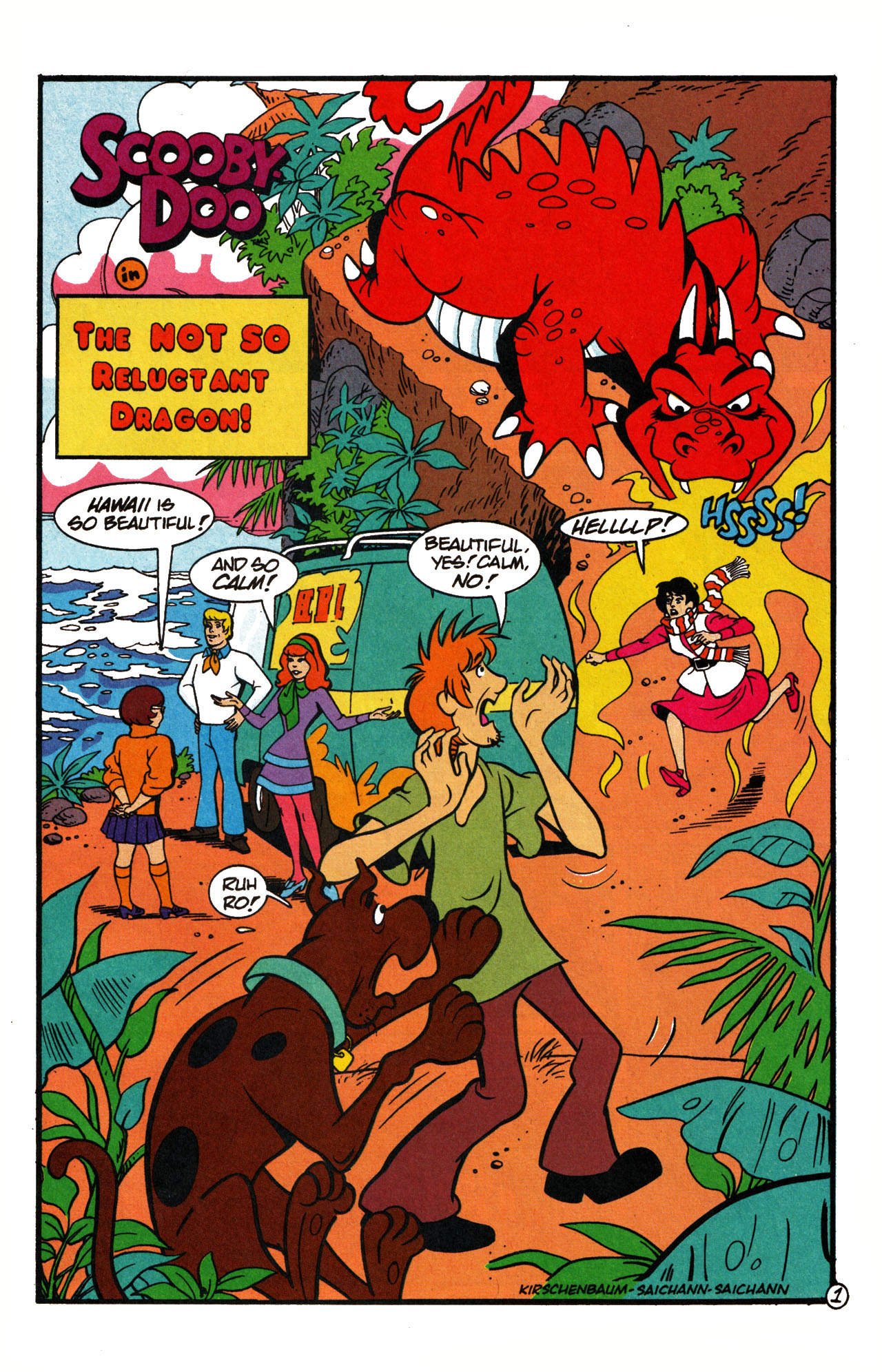 Read online Scooby-Doo (1995) comic -  Issue #15 - 23