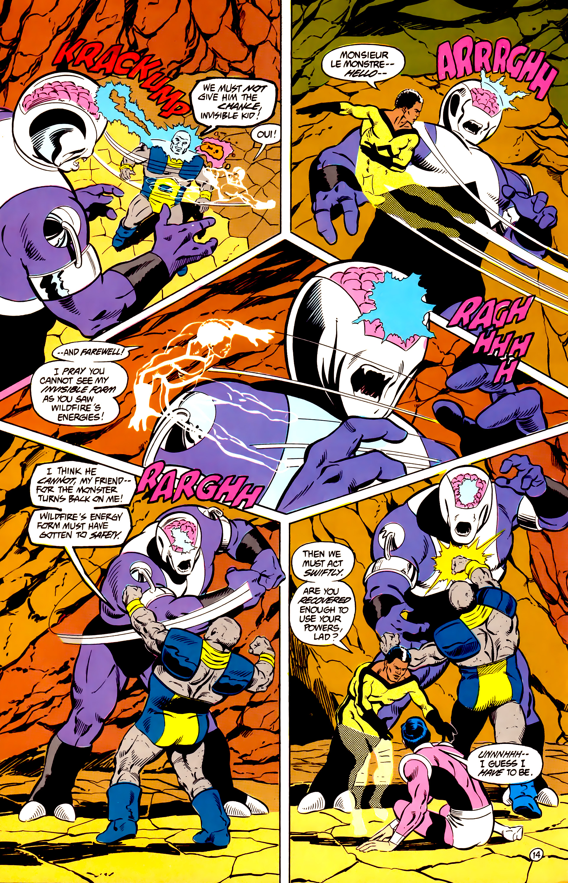 Legion of Super-Heroes (1984) _Annual_2 Page 15