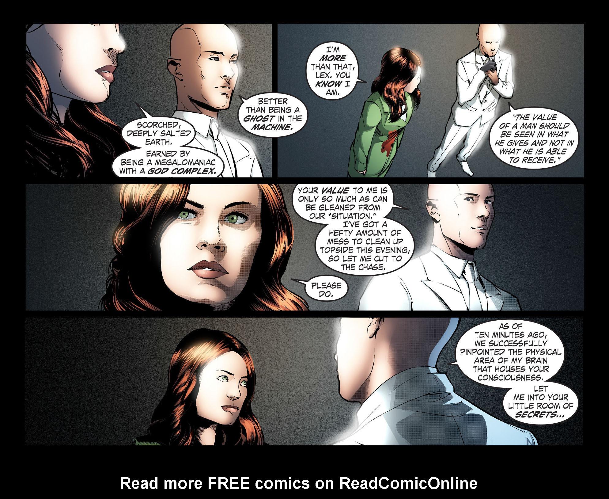 Read online Smallville: Season 11 comic -  Issue #30 - 4