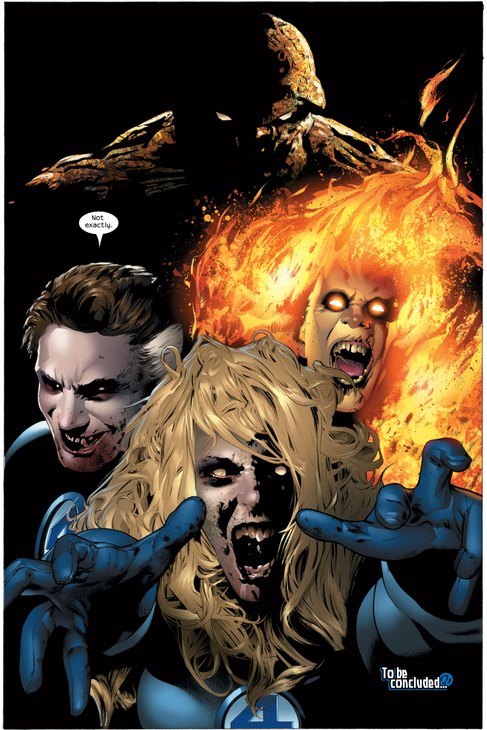 Read online Ultimate Fantastic Four (2004) comic -  Issue #22 - 22