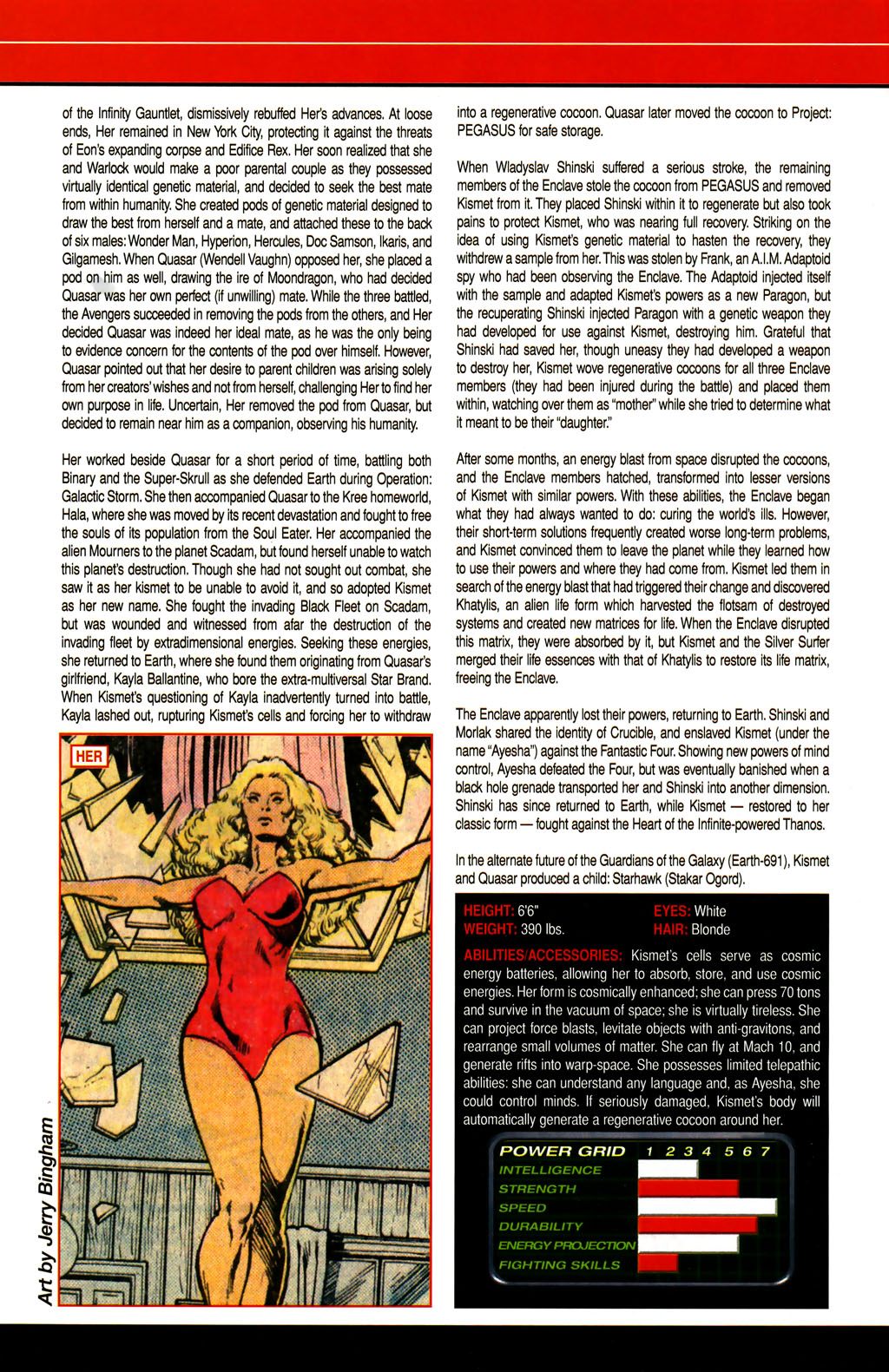 Read online All-New Official Handbook of the Marvel Universe A to Z comic -  Issue #6 - 16