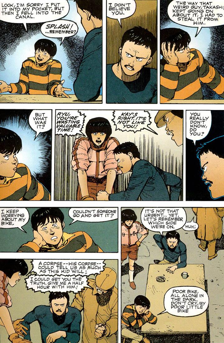 Read online Akira comic -  Issue #3 - 33