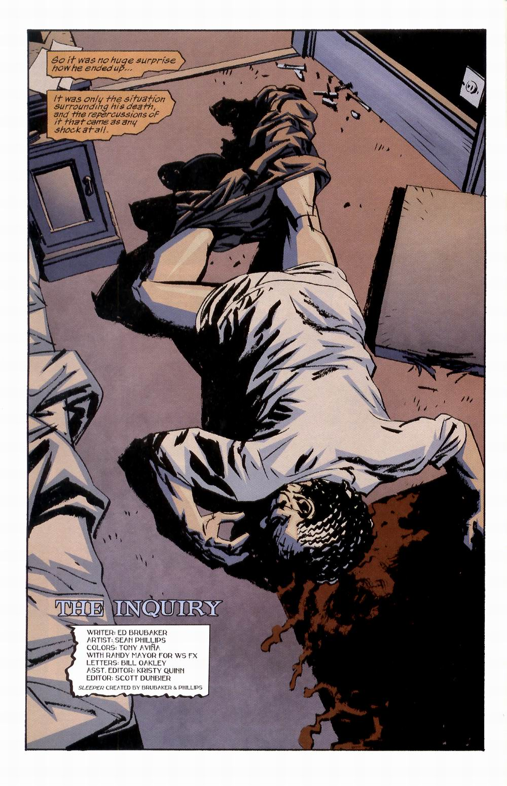 Read online Sleeper comic -  Issue #2 - 8