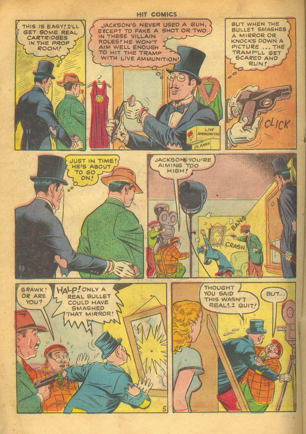 Read online Hit Comics comic -  Issue #60 - 20