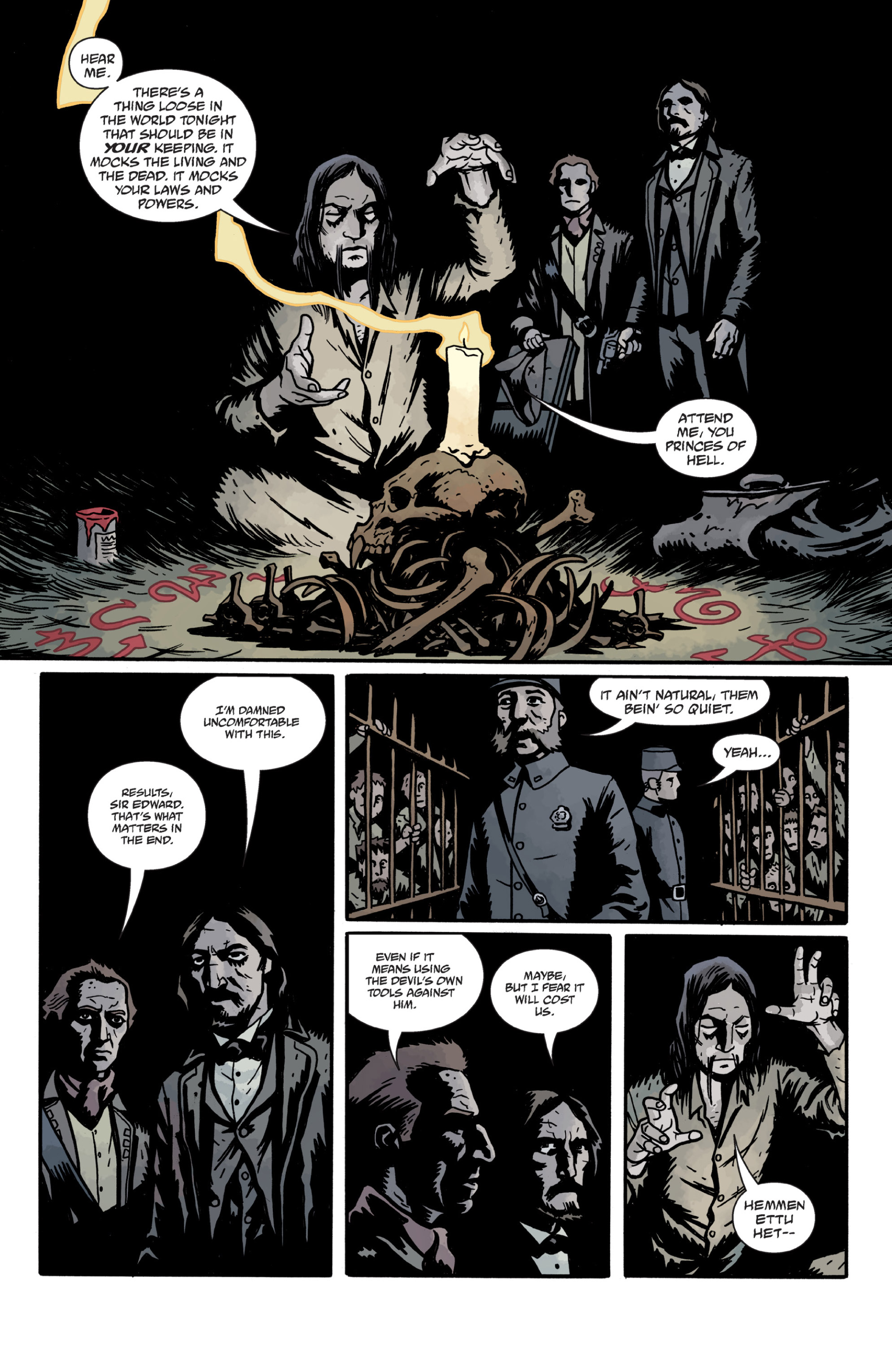 Read online Sir Edward Grey, Witchfinder: In the Service of Angels comic -  Issue # TPB - 105