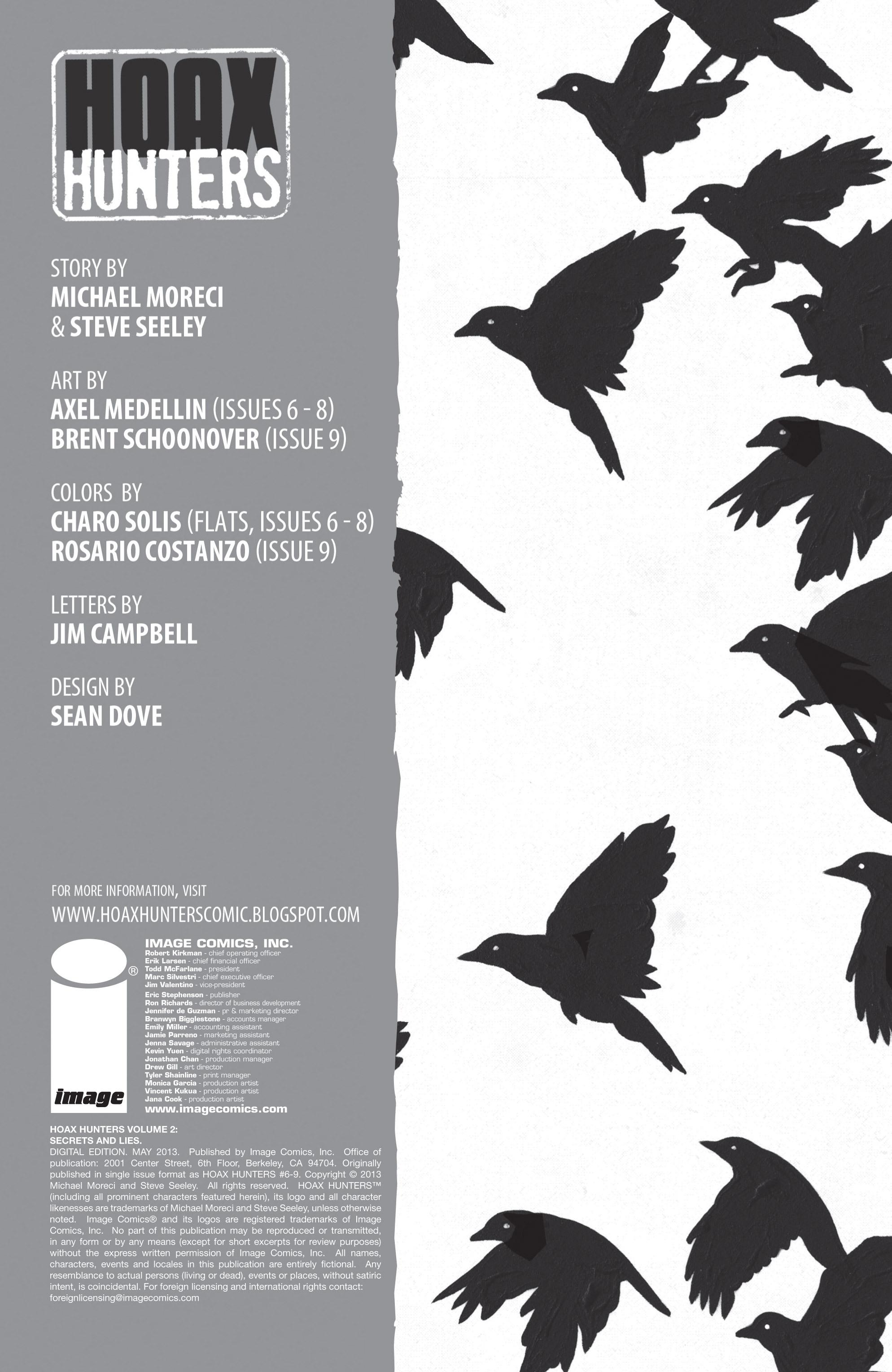 Read online Hoax Hunters (2012) comic -  Issue # TPB 2 - 2