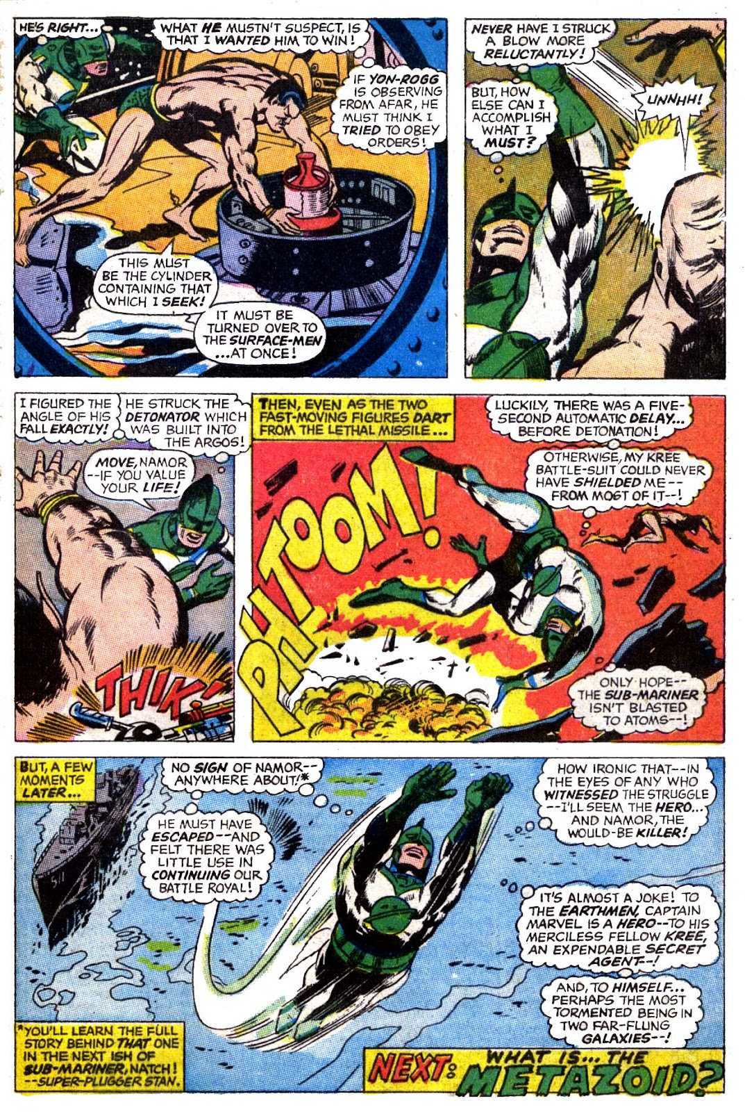 Captain Marvel (1968) issue 4 - Page 21