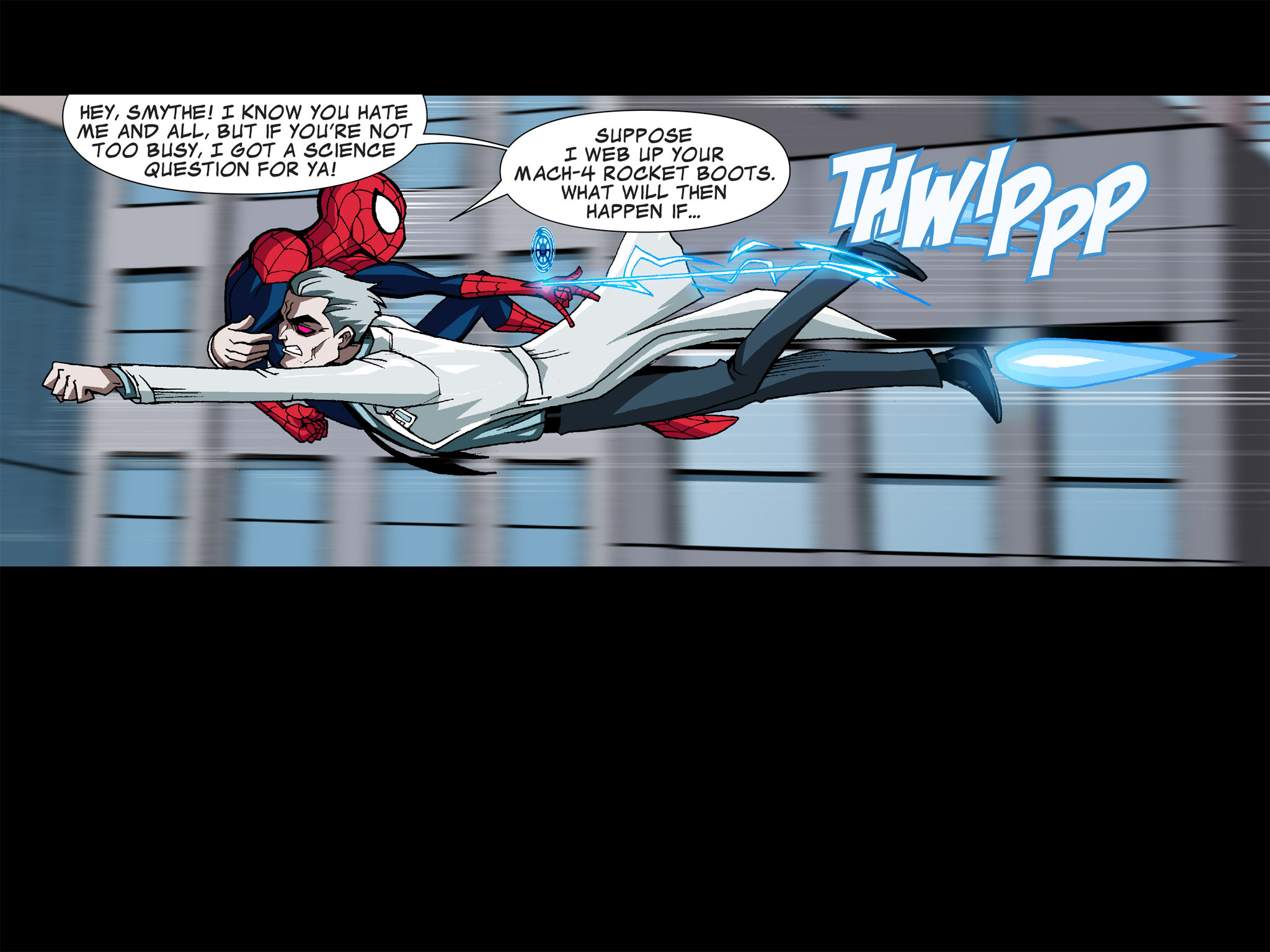 Read online Ultimate Spider-Man (Infinite Comics) (2015) comic -  Issue #5 - 30