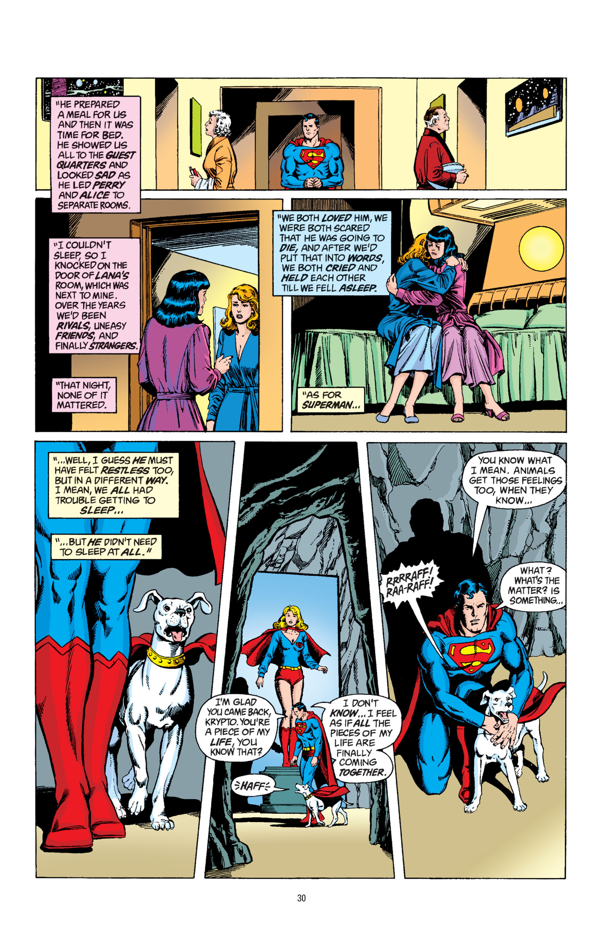 Read online Superman: Whatever Happened to the Man of Tomorrow? comic -  Issue # TPB - 29
