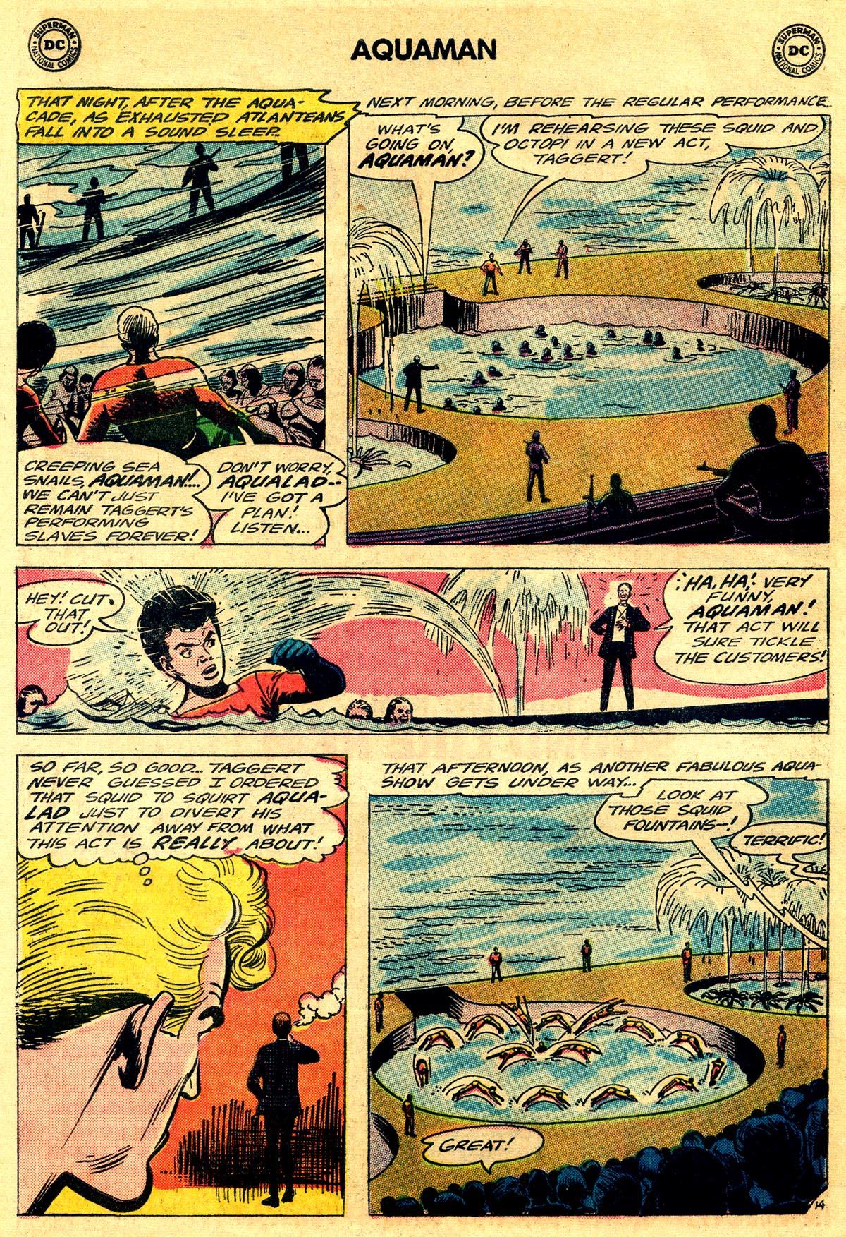 Read online Aquaman (1962) comic -  Issue #19 - 20