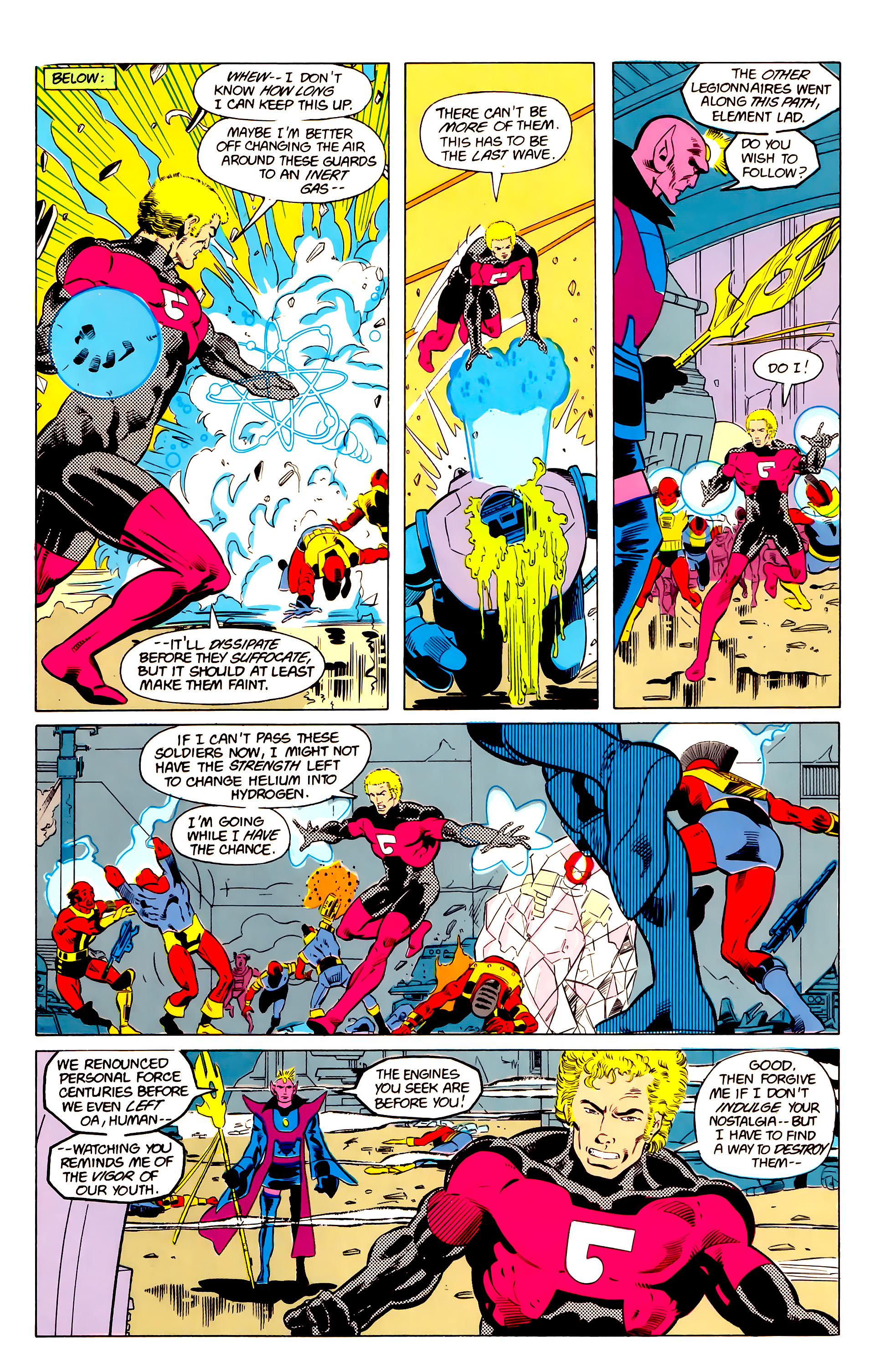 Legion of Super-Heroes (1984) 20 Page 18