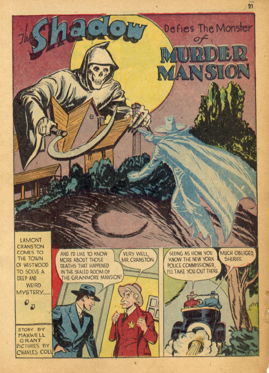 Read online Shadow Comics comic -  Issue #32 - 22