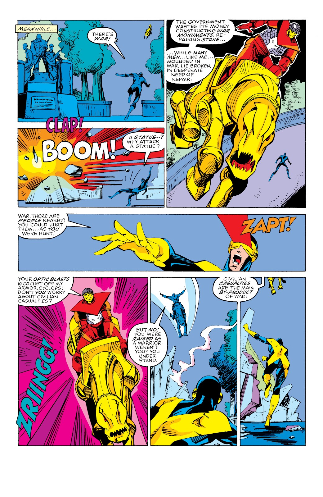 Read online X-Men Milestones: Fall of the Mutants comic -  Issue # TPB (Part 3) - 16