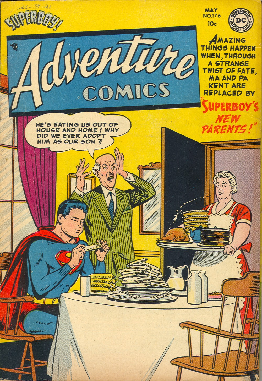 Read online Adventure Comics (1938) comic -  Issue #176 - 1