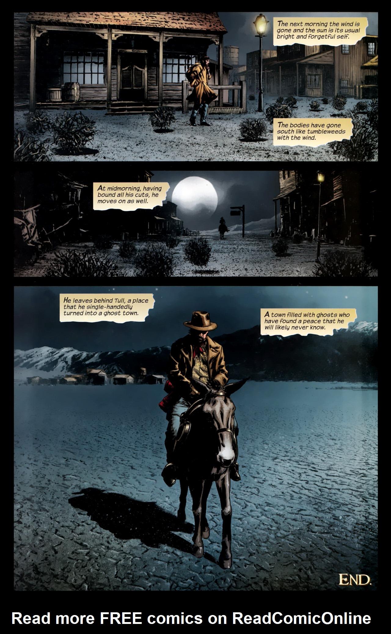Read online Dark Tower: The Gunslinger - The Battle of Tull comic -  Issue #5 - 23