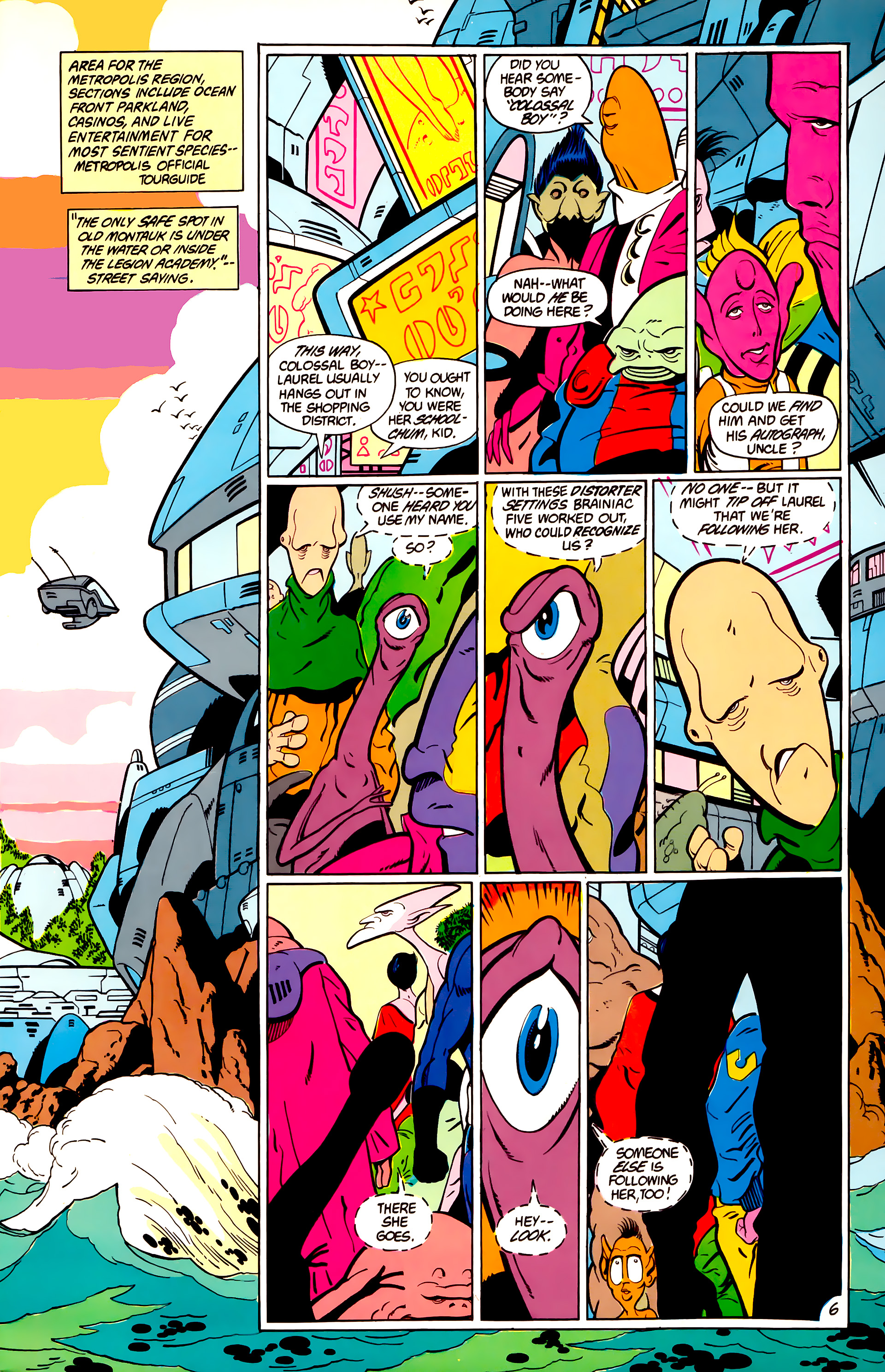 Legion of Super-Heroes (1984) _Annual_1 Page 7