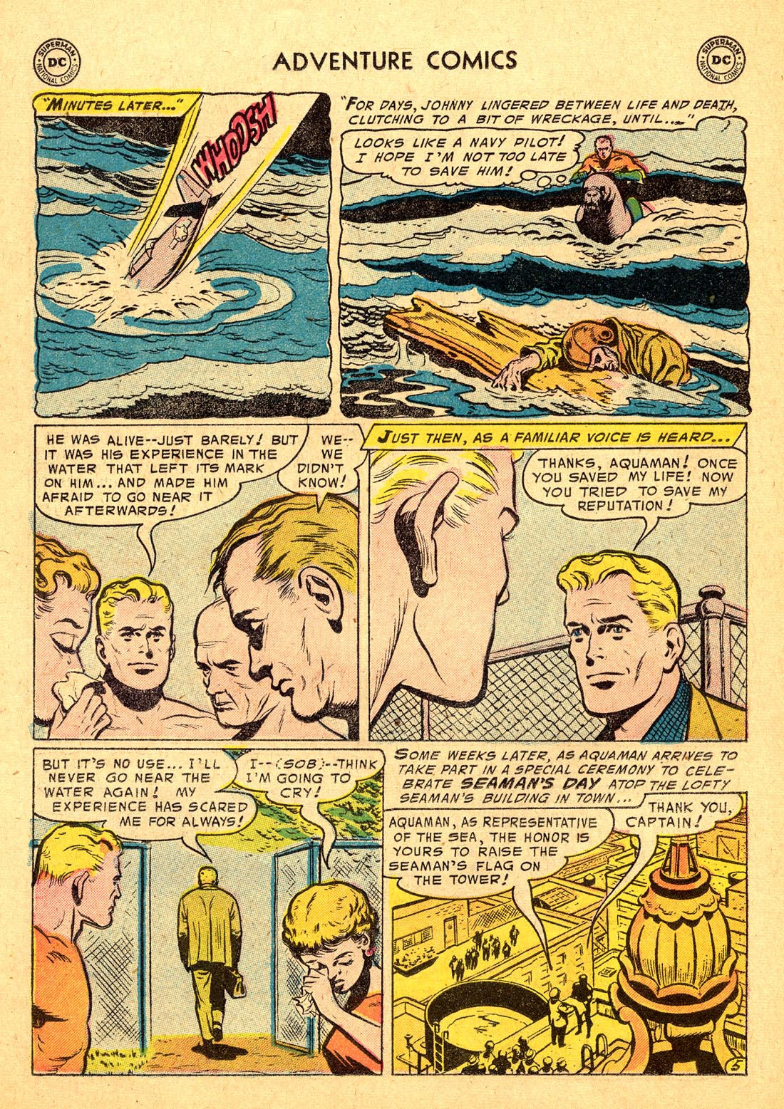 Read online Adventure Comics (1938) comic -  Issue #220 - 22