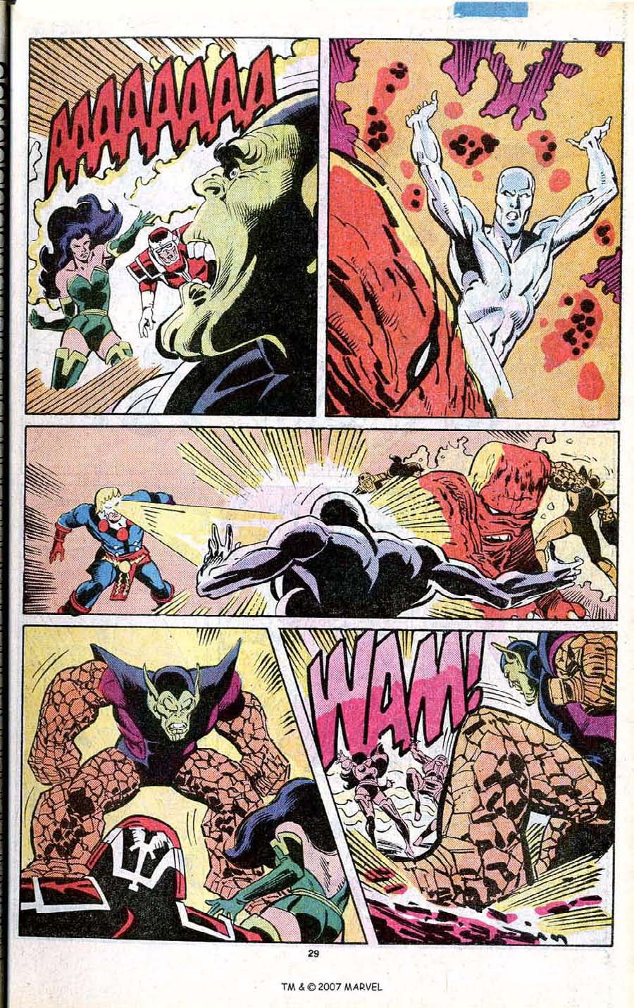 Read online Silver Surfer (1987) comic -  Issue # _Annual 1 - 31