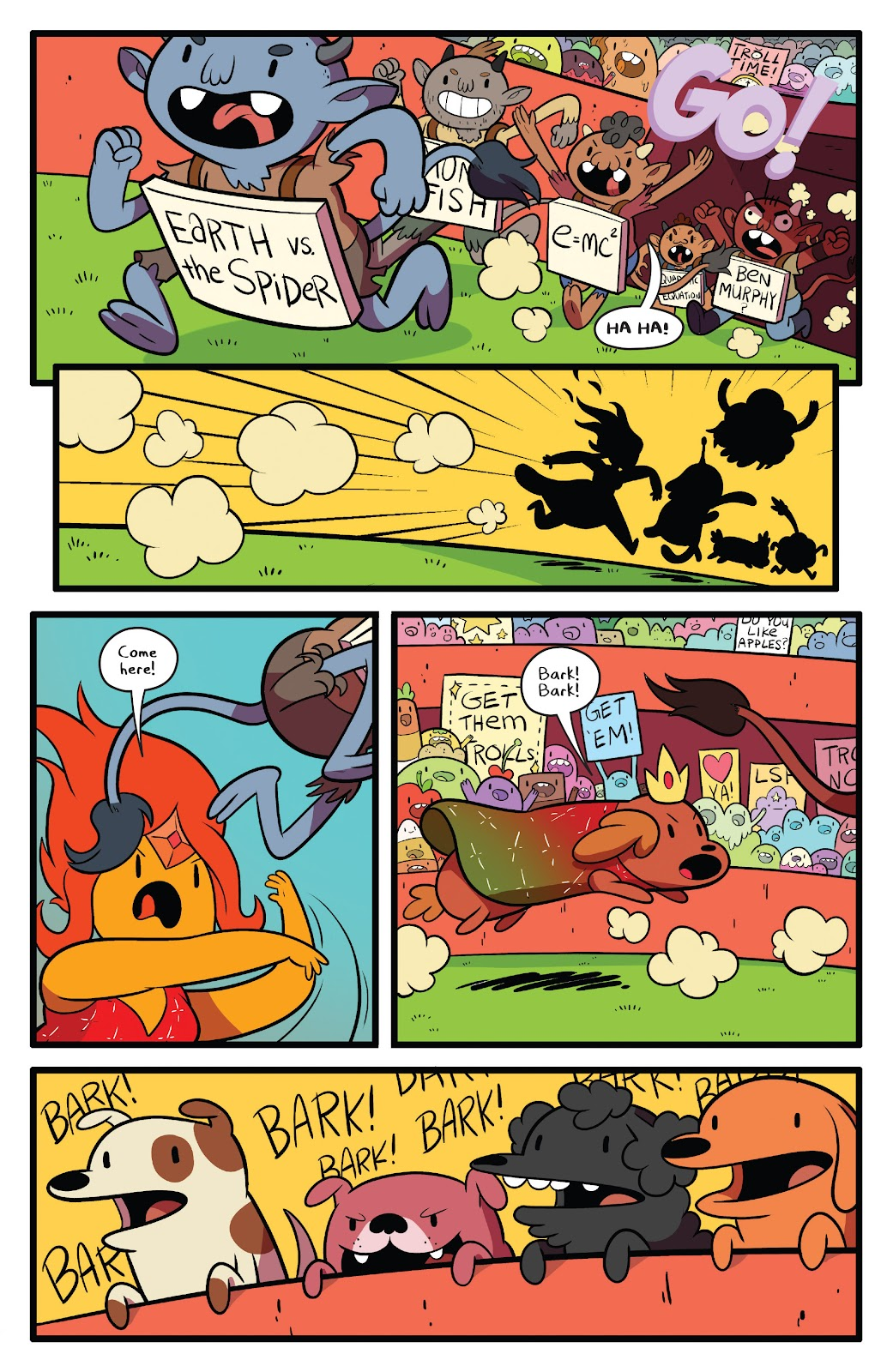 Read online Adventure Time comic -  Issue #63 - 16