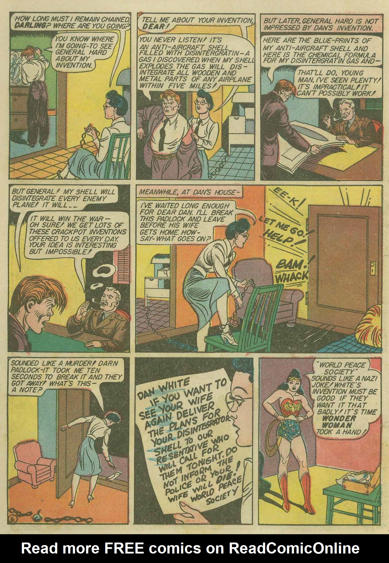 Read online Sensation (Mystery) Comics comic -  Issue #9 - 8