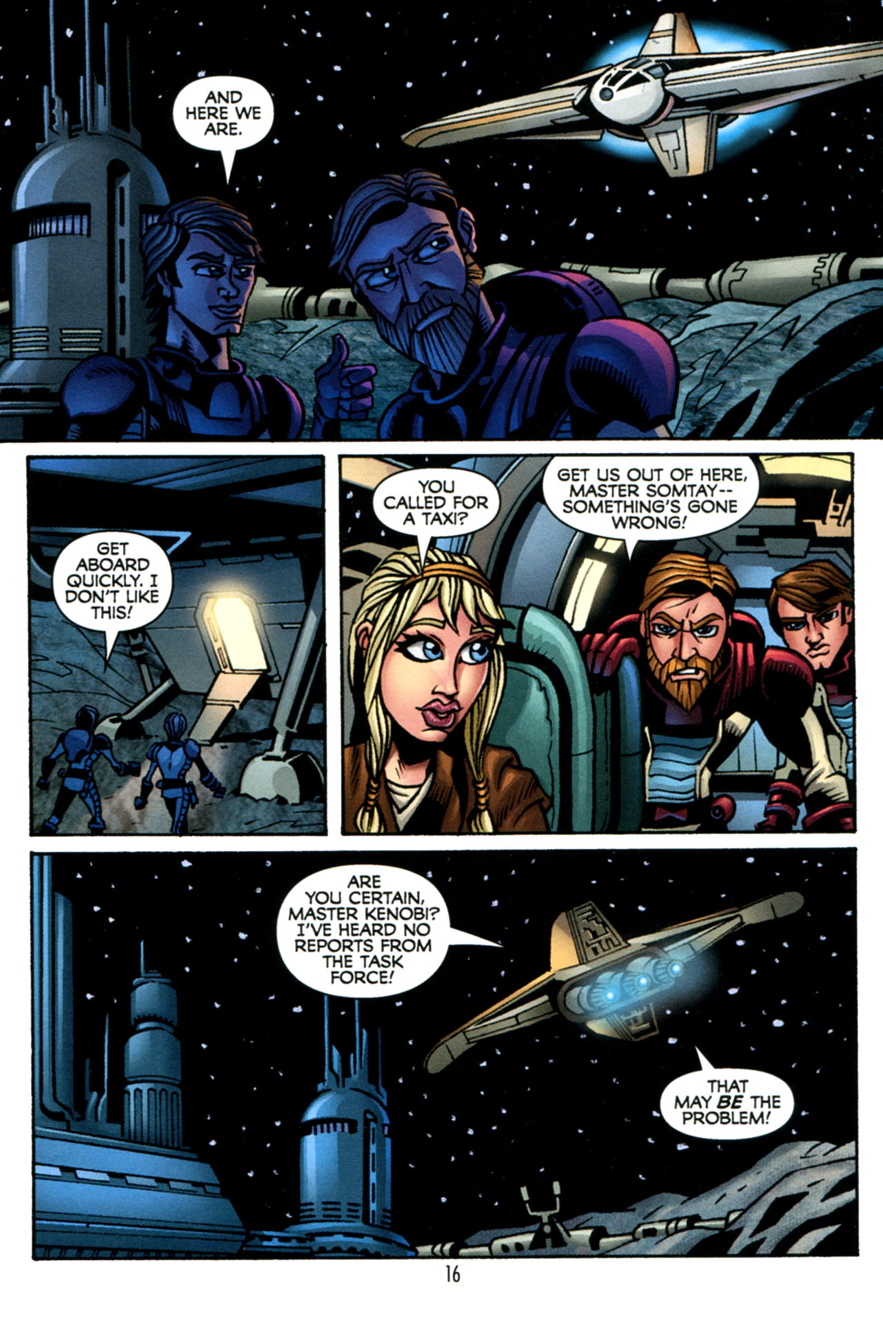 Read online Star Wars: The Clone Wars - The Starcrusher Trap comic -  Issue # Full - 17