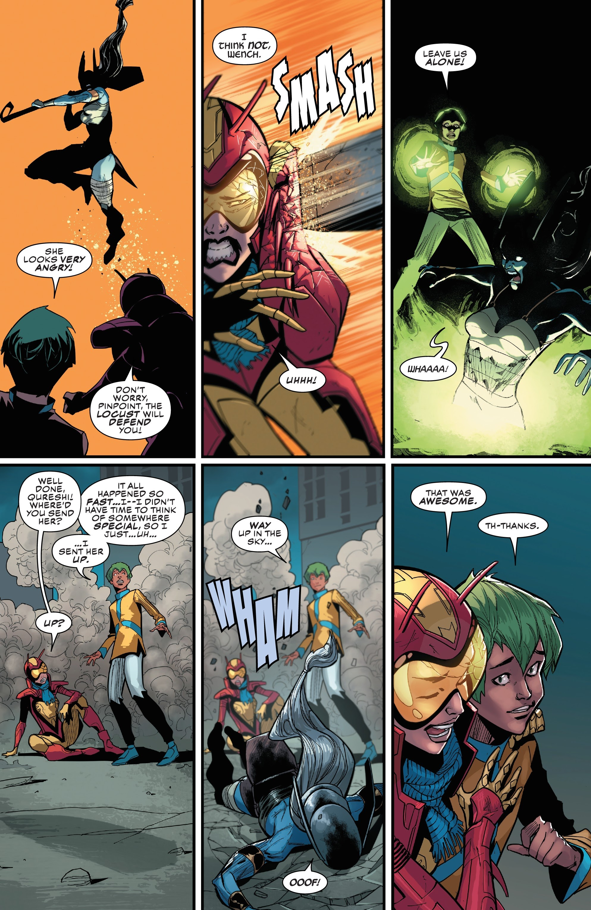 Read online Champions (2019) comic -  Issue #6 - 11