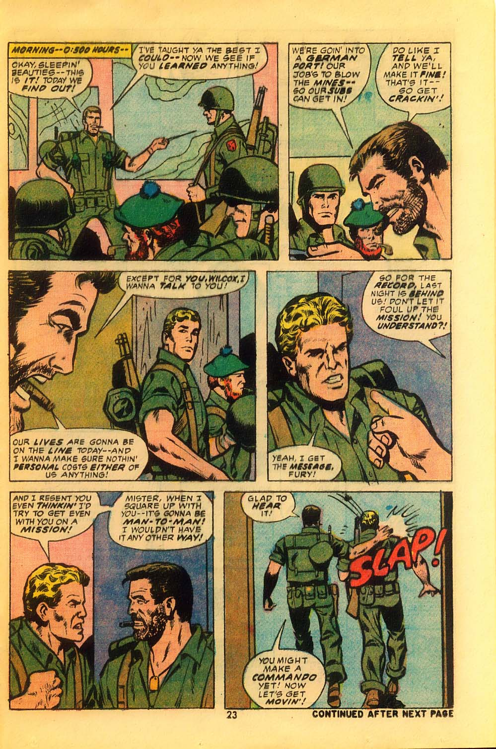 Read online Sgt. Fury comic -  Issue #116 - 25