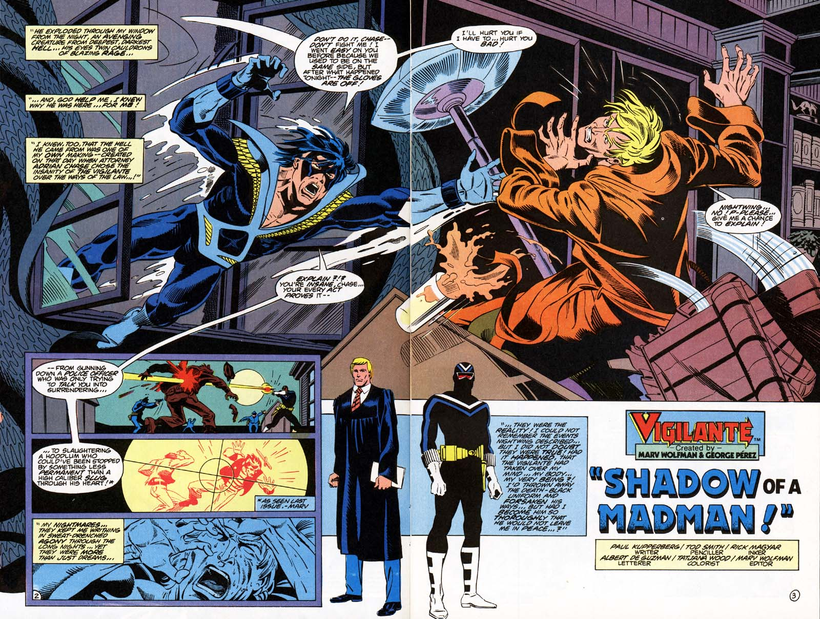 Vigilante (1983) issue 21 - Page 5