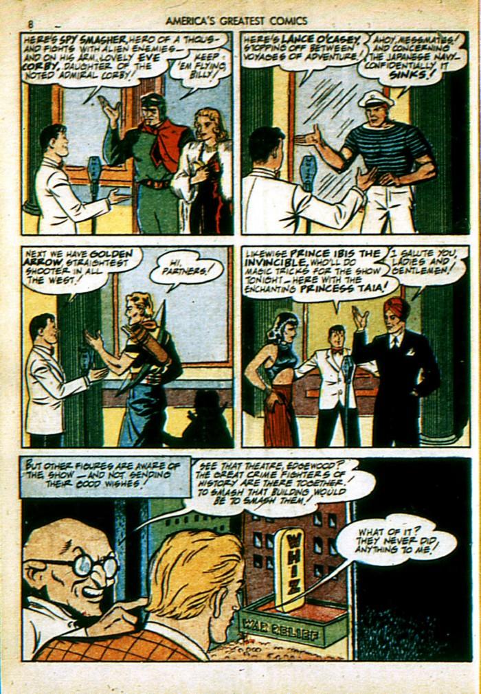 Read online America's Greatest Comics comic -  Issue #4 - 8