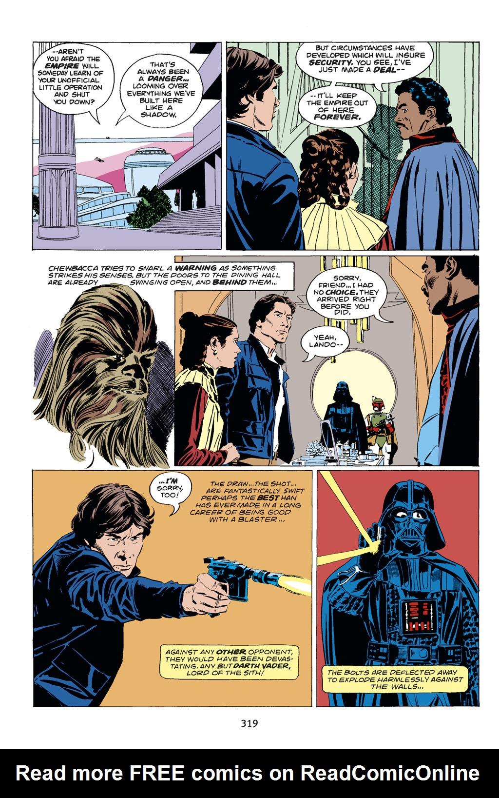 Read online Star Wars Omnibus comic -  Issue # Vol. 14 - 317